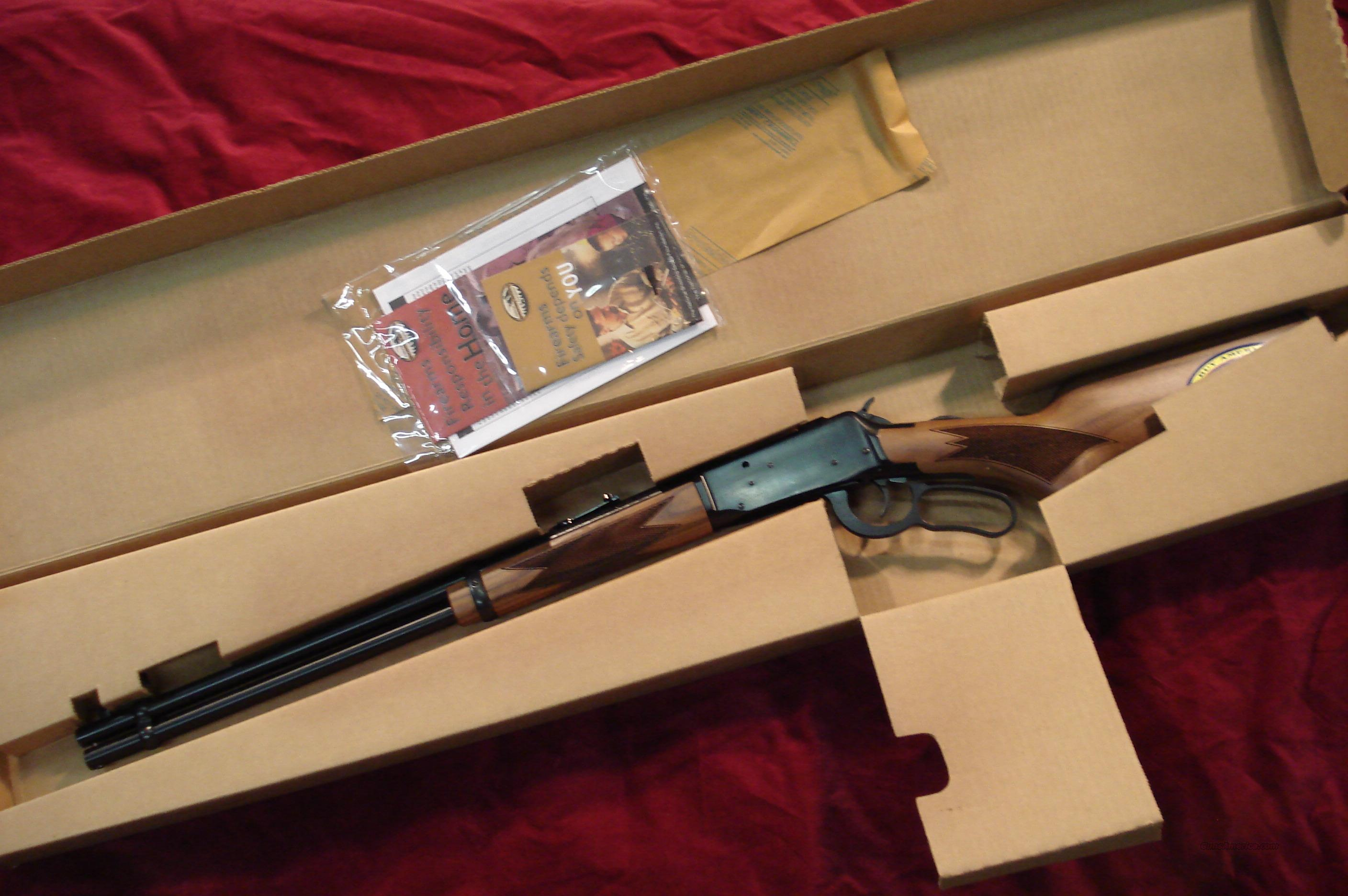 MOSSBERG 464 CHECKERED WALNUT LEVER ACTION 30-30CAL. NEW  Guns > Rifles > Mossberg Rifles > Lever Action