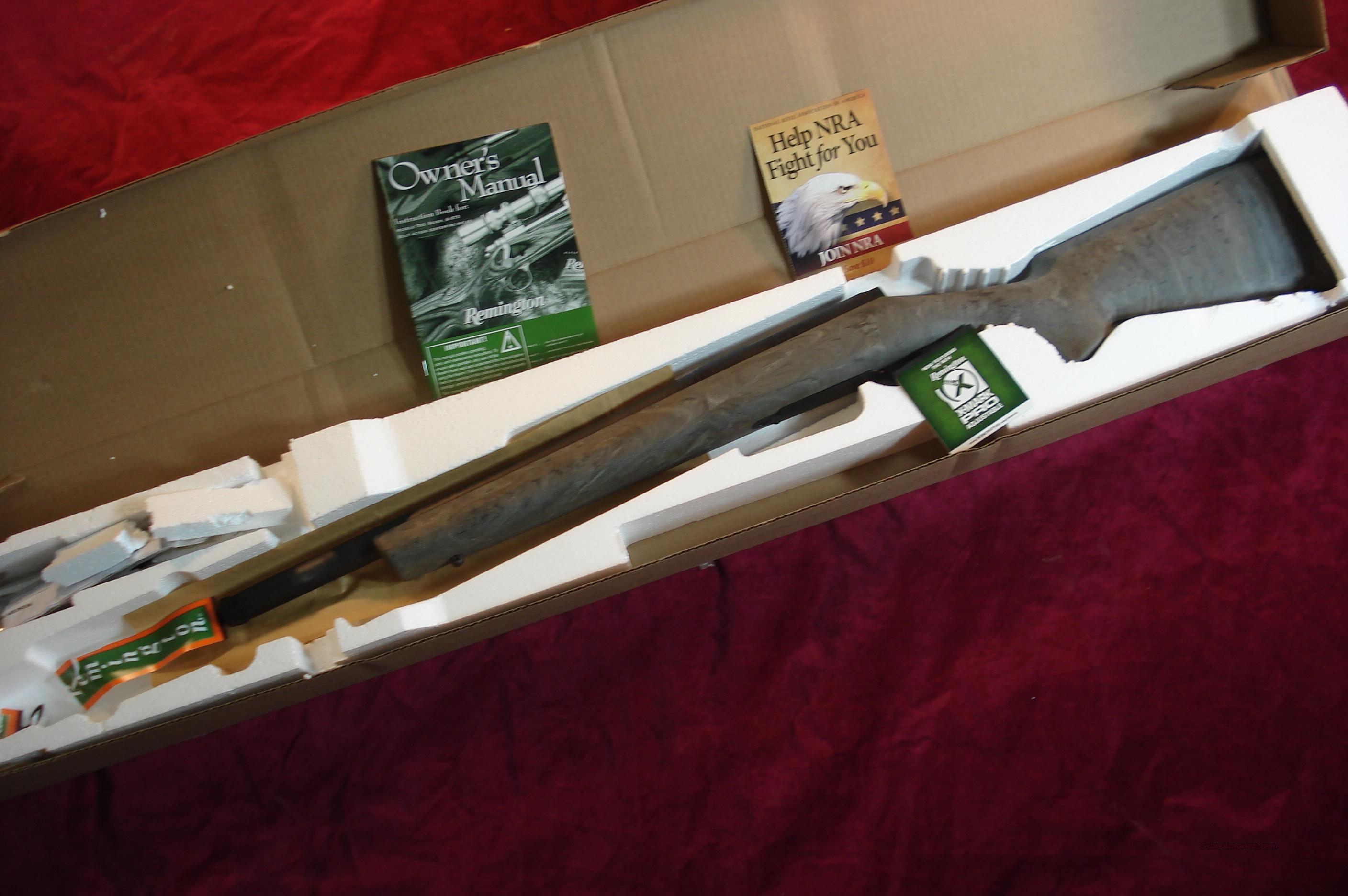 REMINGTON 700SPS TACTICAL (SUPRESSOR READY) .300BLACKOUT CAL.NEW   Guns > Rifles > Remington Rifles - Modern > Model 700 > Tactical