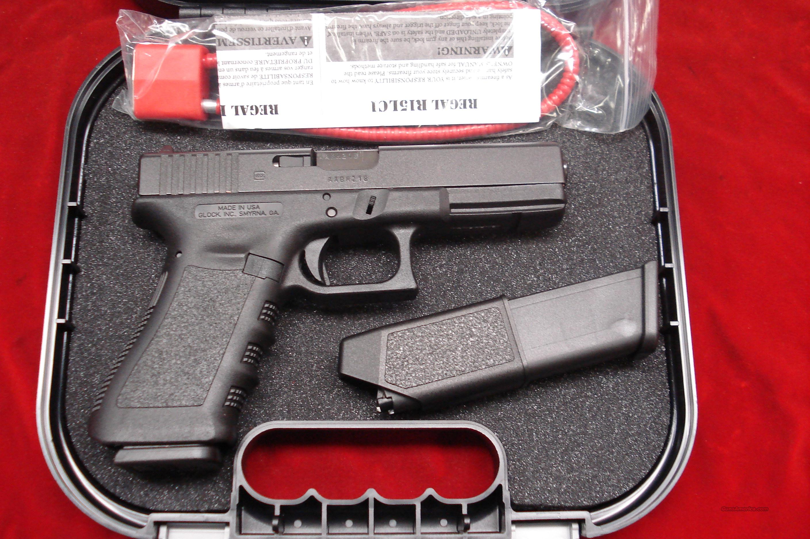 GLOCK MODEL 17 GEN3 9MM WITH 10 ROUND MAGAZINES NEW   Guns > Pistols > Glock Pistols > 17