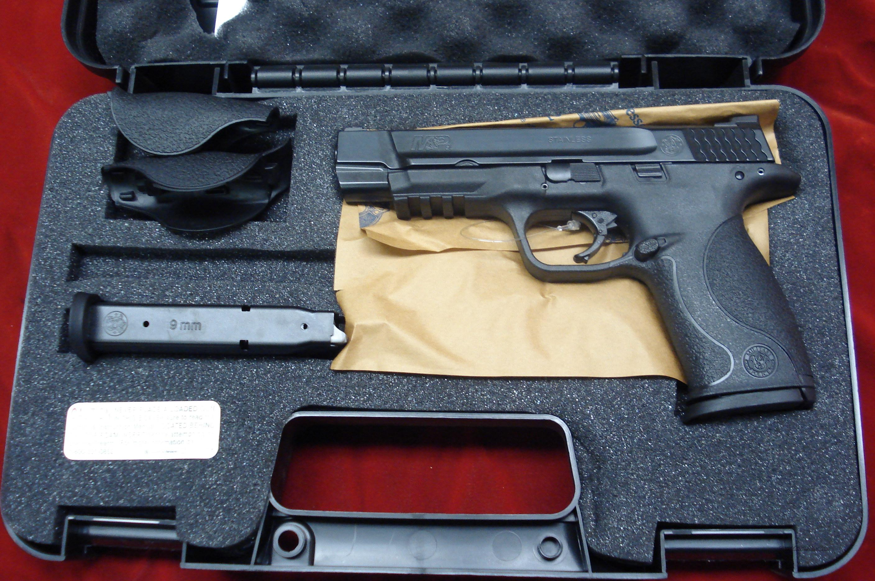 SMITH AND WESSON M&PL (LONG SLIDE) 9MM HIGH/CAP NEW  Guns > Pistols > Smith & Wesson Pistols - Autos > Polymer Frame