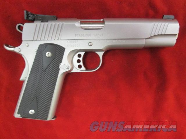 KIMBER STAINLESS TARGET II 45 ACP LIGHTLY USED  Guns > Pistols > Kimber of America Pistols