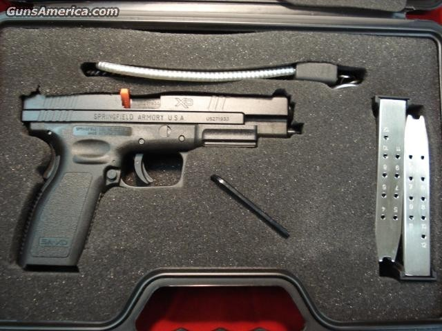 SPRINGFIELD ARMORY XD40 TACTICAL PACKAGE NEW  Guns > Pistols > Springfield Armory Pistols > XD (eXtreme Duty)