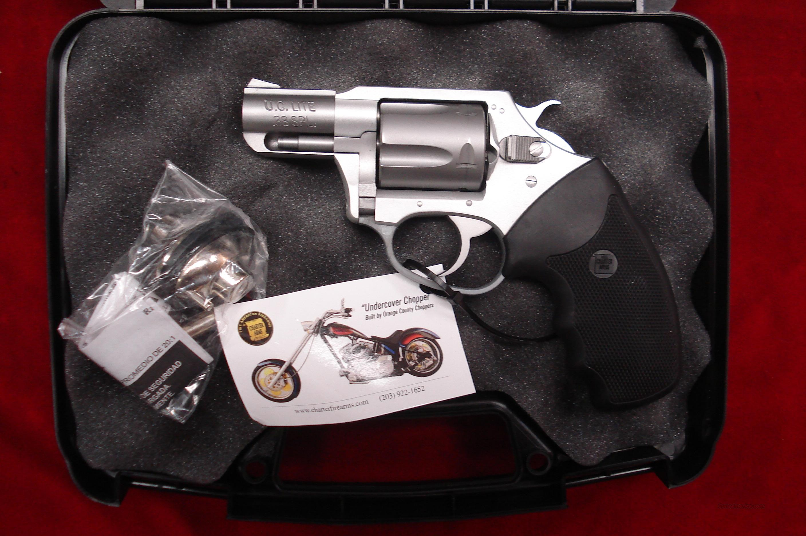CHARTER ARMS UNDERCOVER LITE STAINLESS 38 SPECIAL NEW  Guns > Pistols > Charter Arms Revolvers