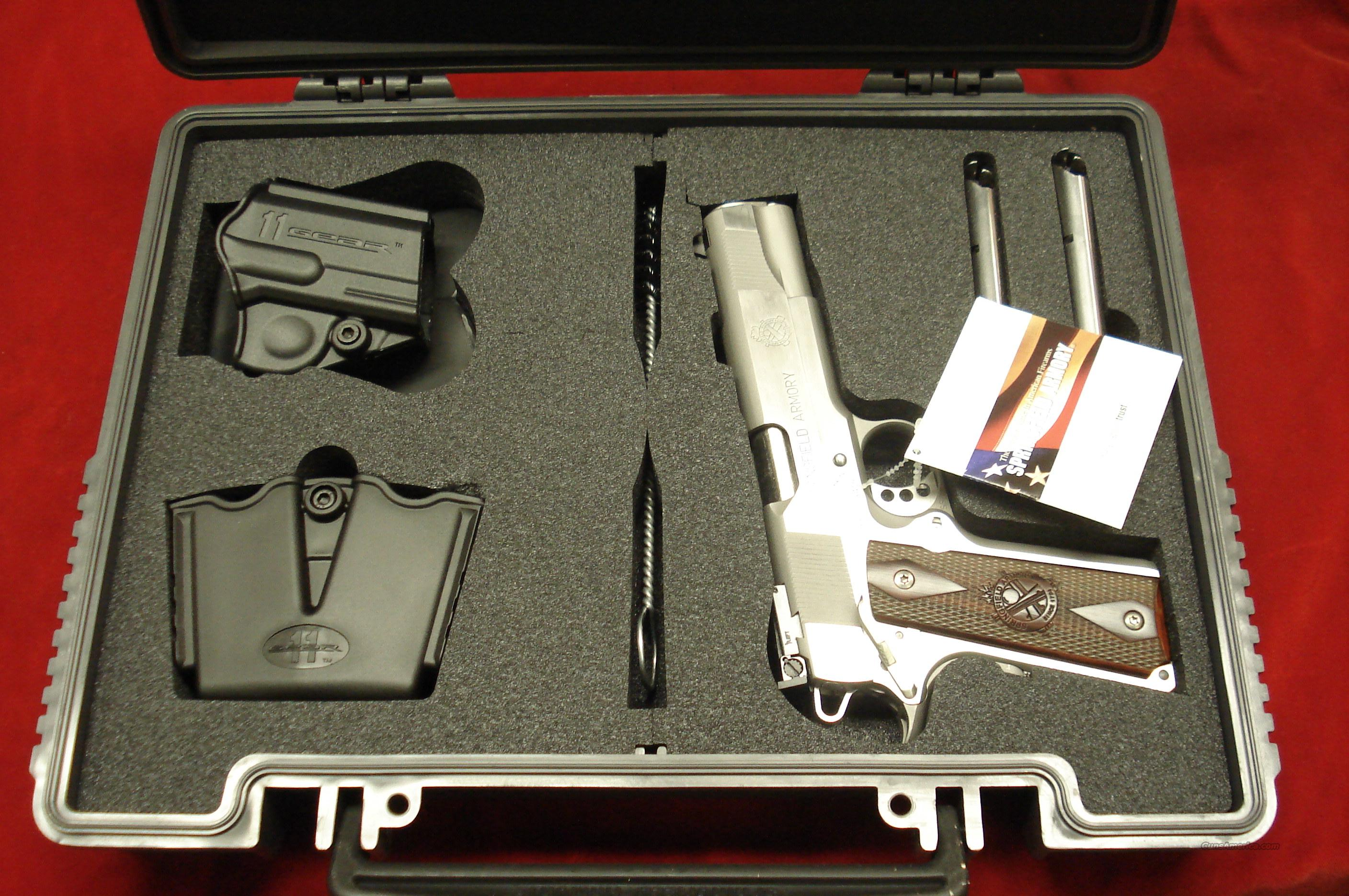 SPRINGFIELD ARMORY STAINLESS LOADED TARGET (PI9132LP) NEW   Guns > Pistols > Springfield Armory Pistols > 1911 Type