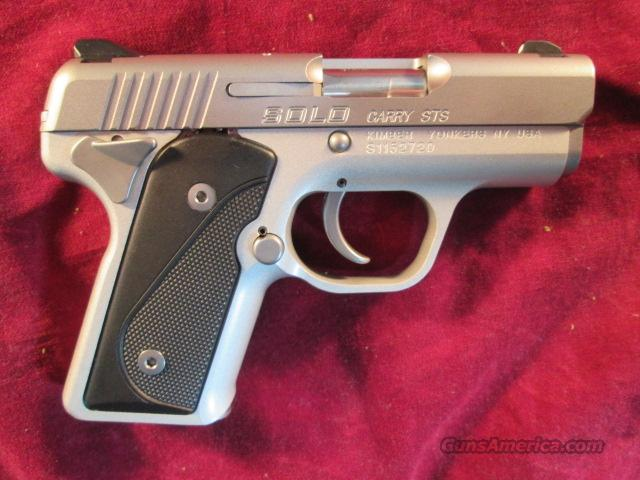 KIMBER SOLO CARRY STAINLESS 9MM NEW  Guns > Pistols > Kimber of America Pistols