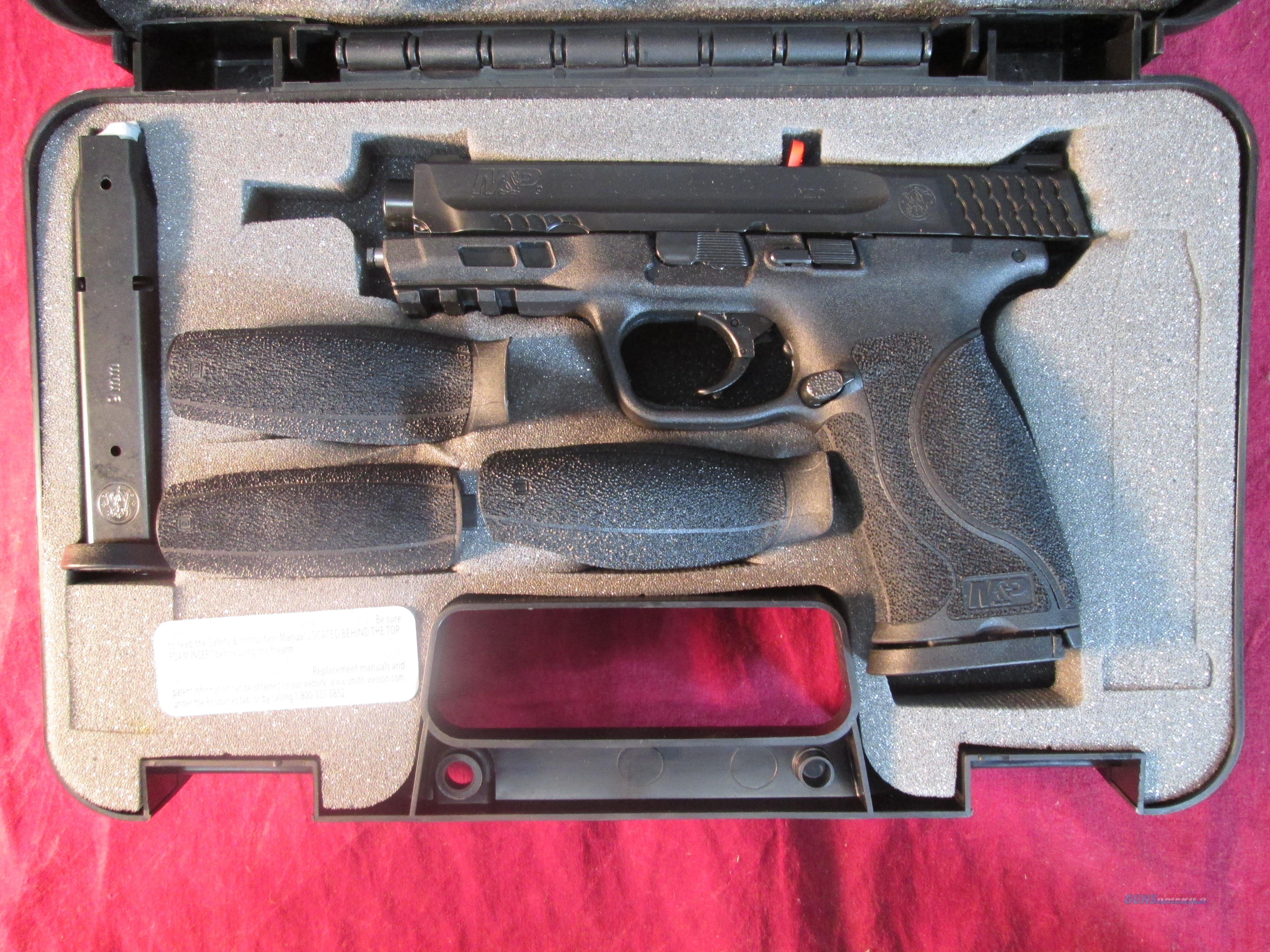 "SMITH AND WESSON M&P 2.0 9MM 4.25"" BLACK NEW (11521)    Guns > Pistols > Smith & Wesson Pistols - Autos > Polymer Frame"