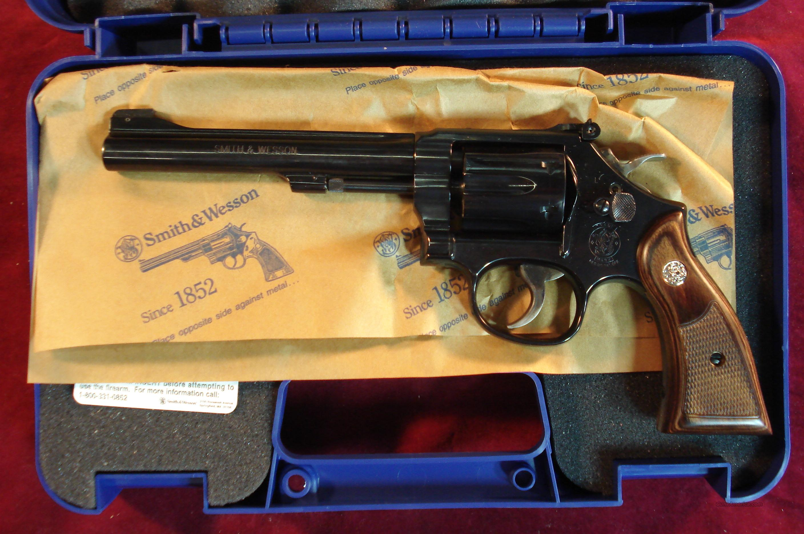 "SMITH AND WESSON MODEL 17 CLASSIC 22CAL 6"" BLUE NEW  Guns > Pistols > Smith & Wesson Revolvers > Full Frame Revolver"