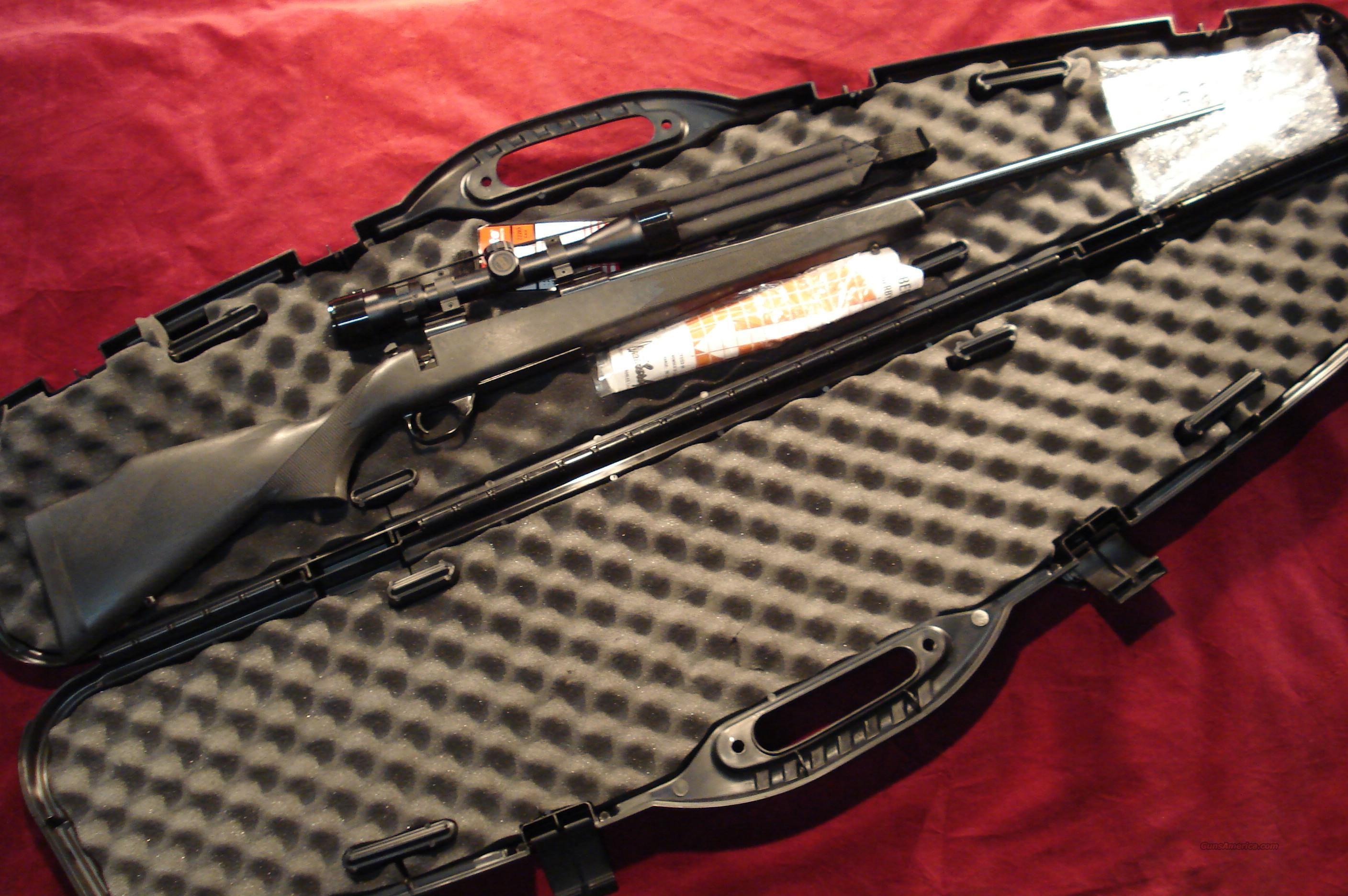 WEATHERBY VANGUARD SYNTHEIC 270 CAL. WITH SCOPE PACKAGE NEW  Guns > Rifles > Weatherby Rifles > Sporting