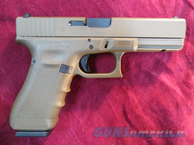 GLOCK 22 40CAL GEN 4 FULL FLAT DARK EARTH W/ 3 HIGH CAPACITY MAGS 4 BACKSTRAPS NEW  Guns > Pistols > Glock Pistols > 22