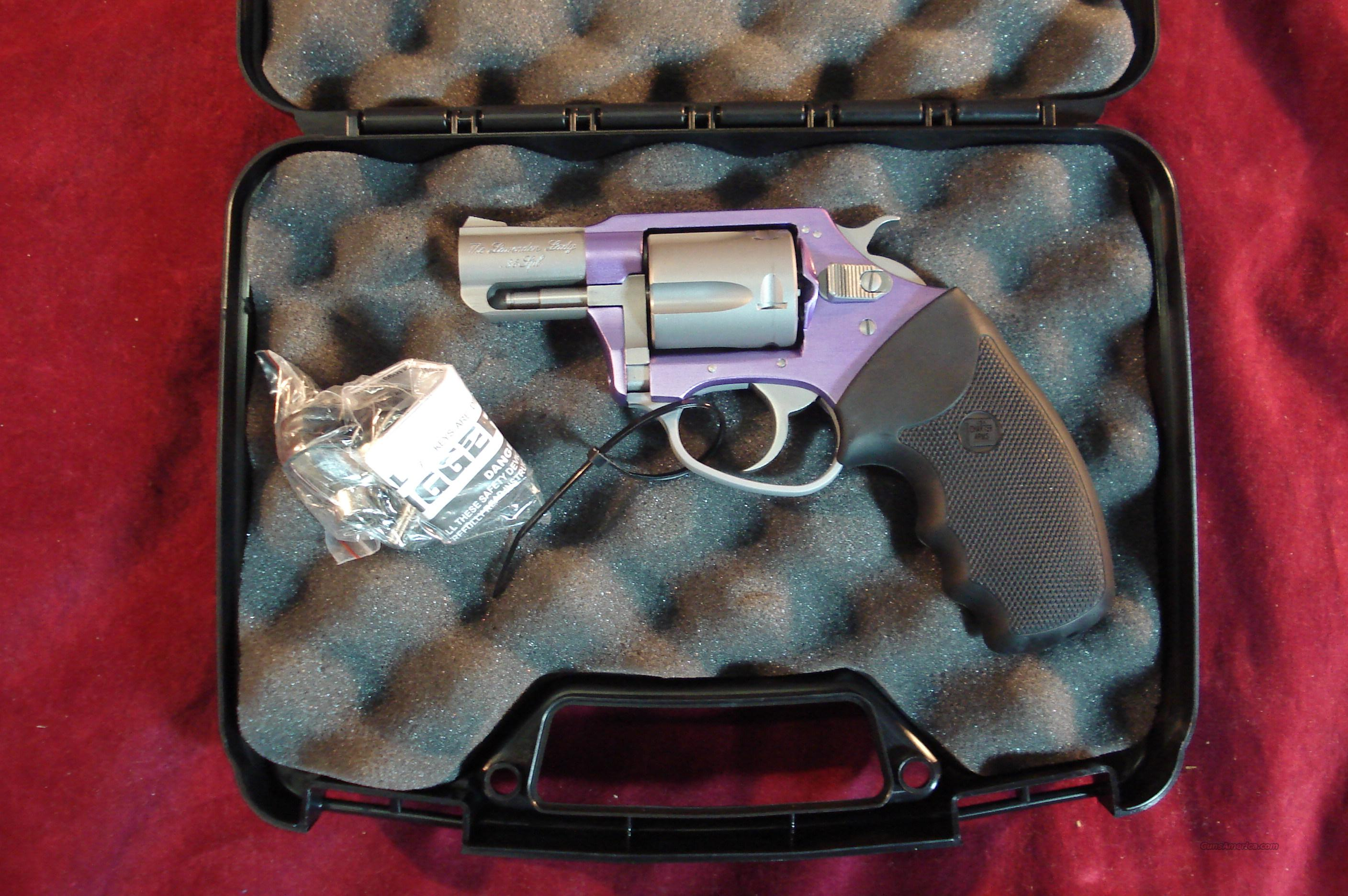 CHARTER ARMS LAVENDER LADY 38+P CAL LAVENDER ALUMINUM FRAME NEW  Guns > Pistols > Charter Arms Revolvers