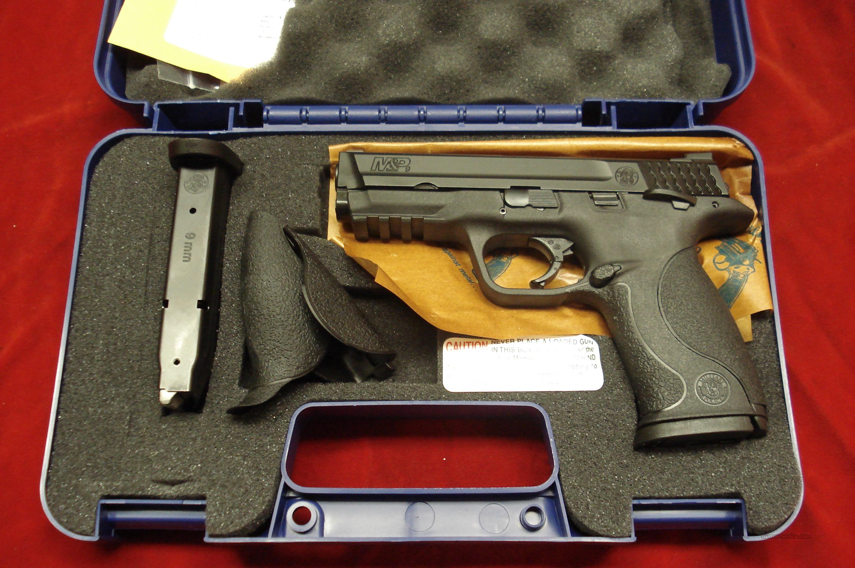 SMITH AND WESSON M&P 9MM HIGH/CAP W/THUMB SAFETY NEW   Guns > Pistols > Smith & Wesson Pistols - Autos > Polymer Frame