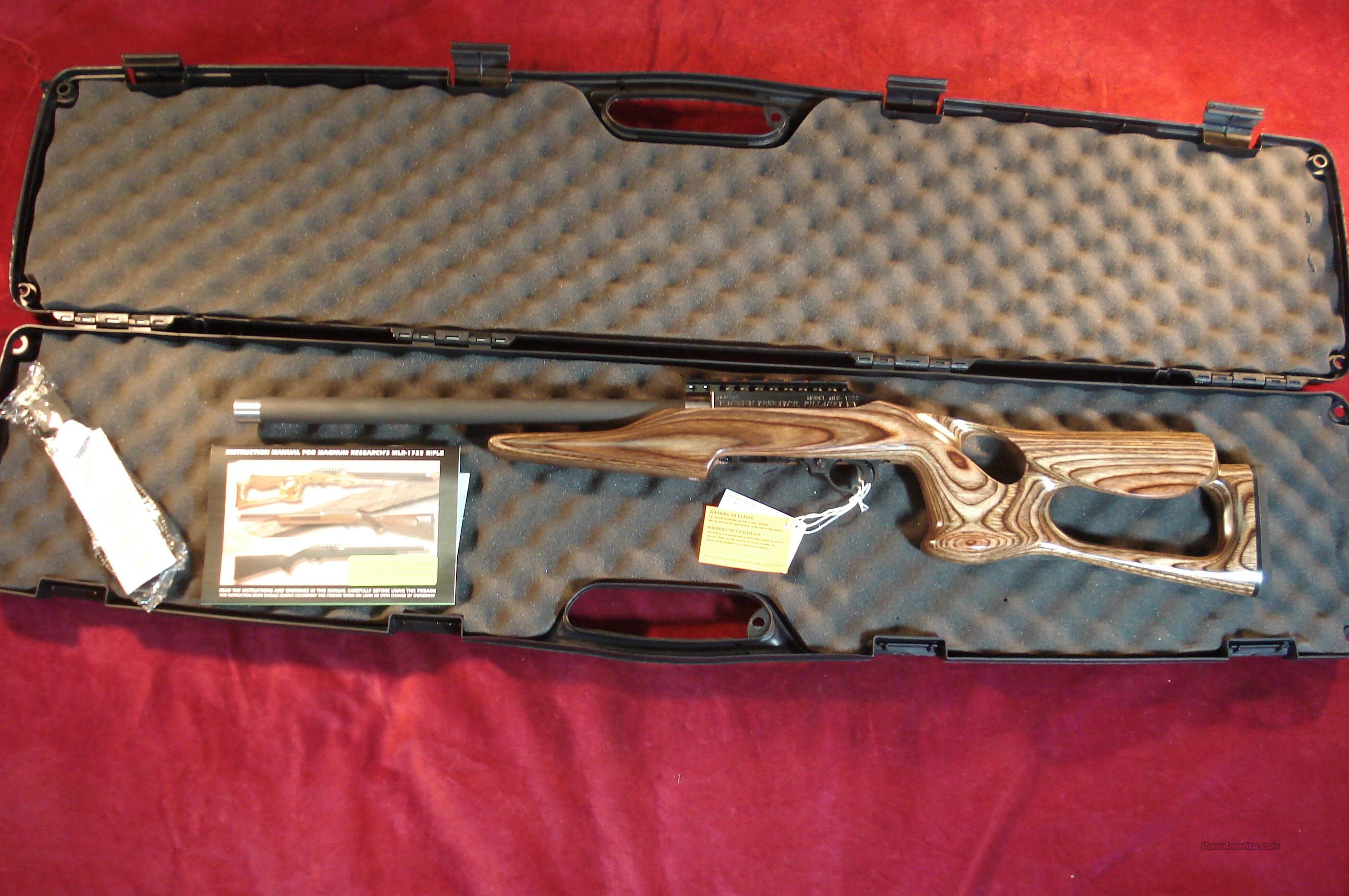 MAGNUM RESEARCH 22LR CAL MAGNUMLITE BARRACUDA NEW  Guns > Rifles > MN Misc Rifles