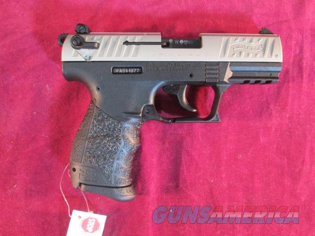 "WALTHER P22 3.42"" NICKLE NEW  Guns > Pistols > Walther Pistols > Post WWII > P22"