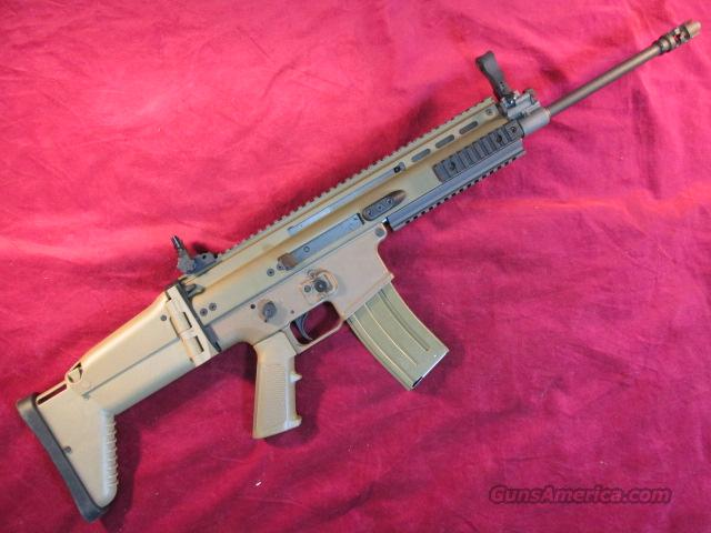 FN SCAR 16S 223/5.56 NATO DARK EARTH NEW  Guns > Rifles > FNH - Fabrique Nationale (FN) Rifles > Semi-auto > Other