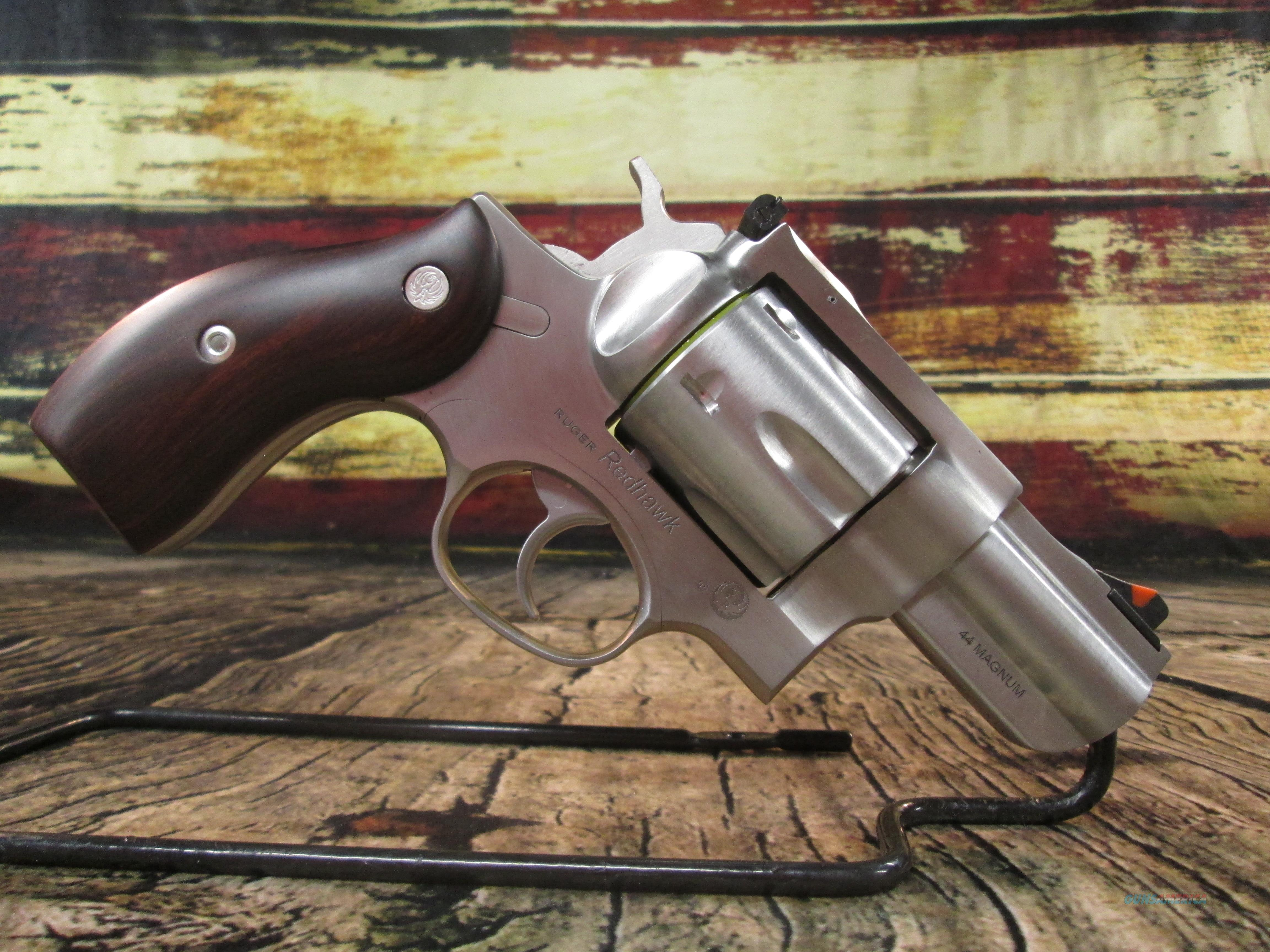 "Ruger Redhawk Kodiak Backpacker 44 Mag Stainless 2.75"" New (05028)  Guns > Pistols > Ruger Double Action Revolver > Redhawk Type"