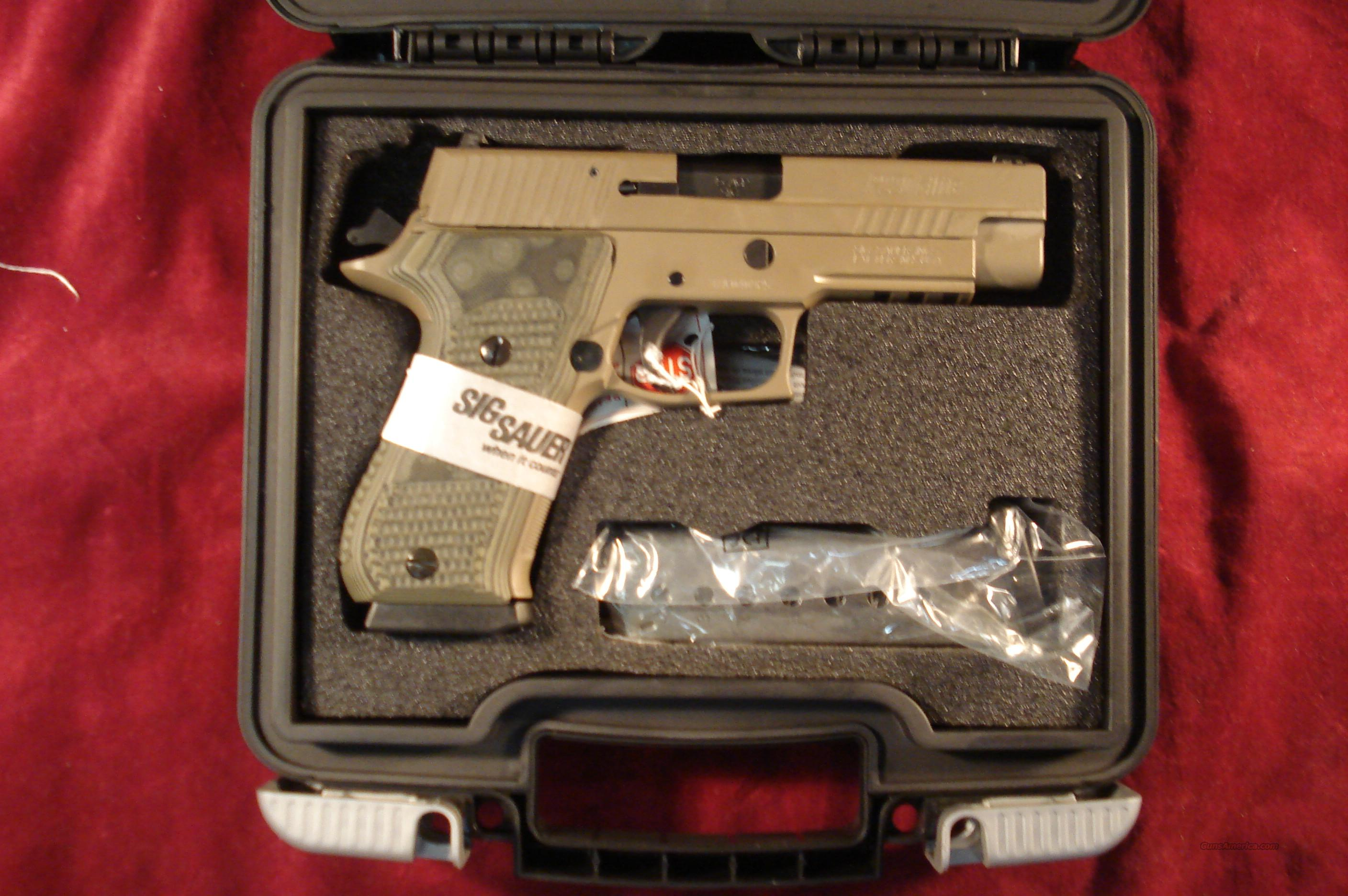 SIG SAUER P220 SCORPION FLAT DARK EARTH 45ACP WITH NIGHT SIGHTS  NEW  Guns > Pistols > Sig - Sauer/Sigarms Pistols > P220