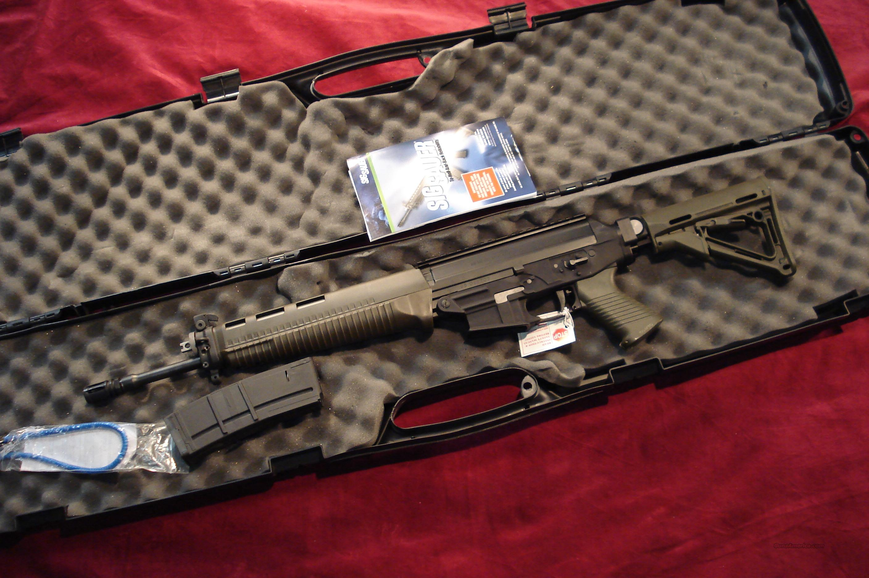 SIGARMS 556 COMMANDO CARBINE RIFLE W/SIDE FOLDER AND  FLIP UP SIGHTS NEW   Guns > Rifles > Sig - Sauer/Sigarms Rifles