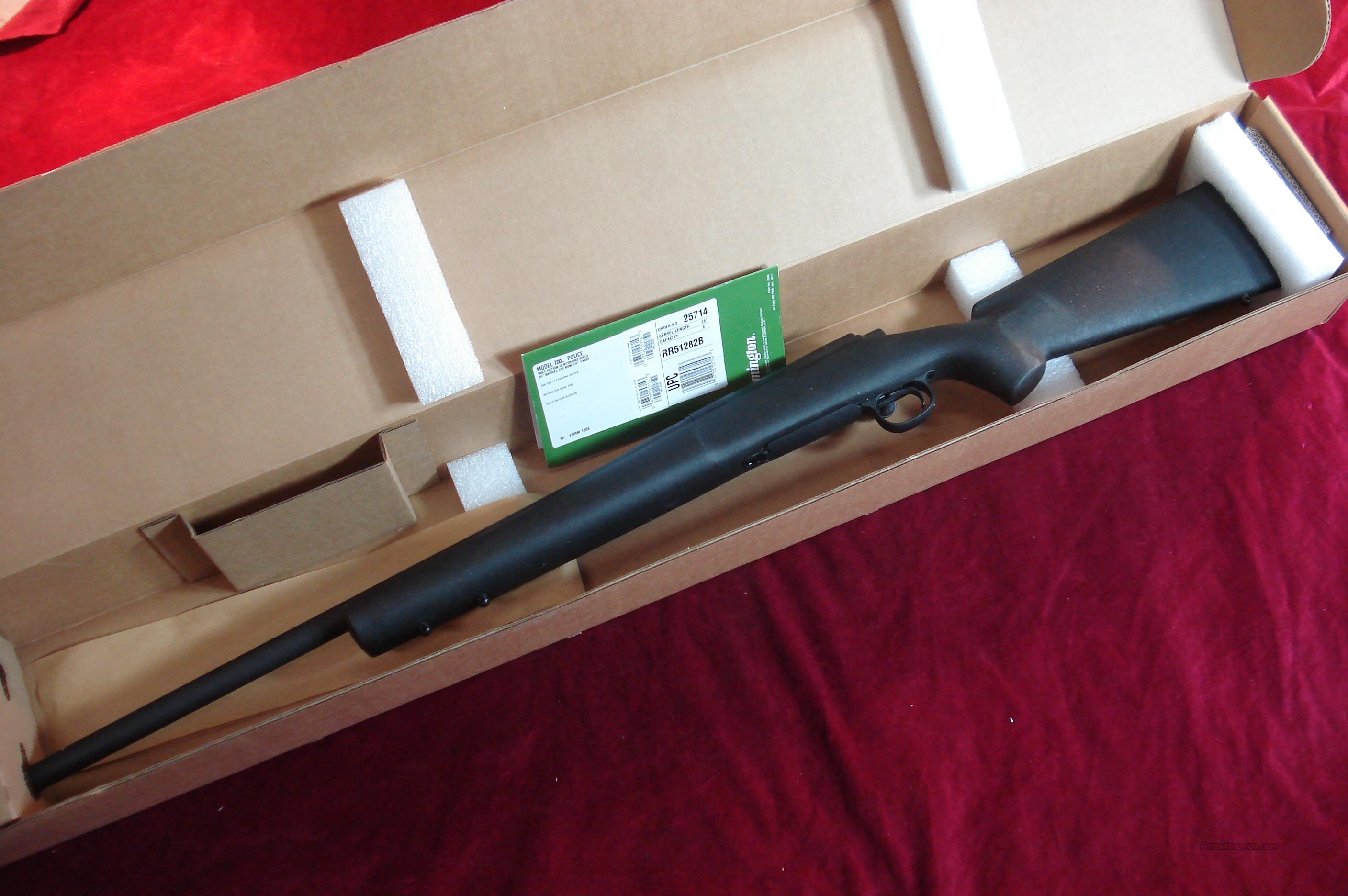REMINGTON 700 POLICE 223CAL NEW.  Guns > Rifles > Remington Rifles - Modern > Model 700 > Tactical