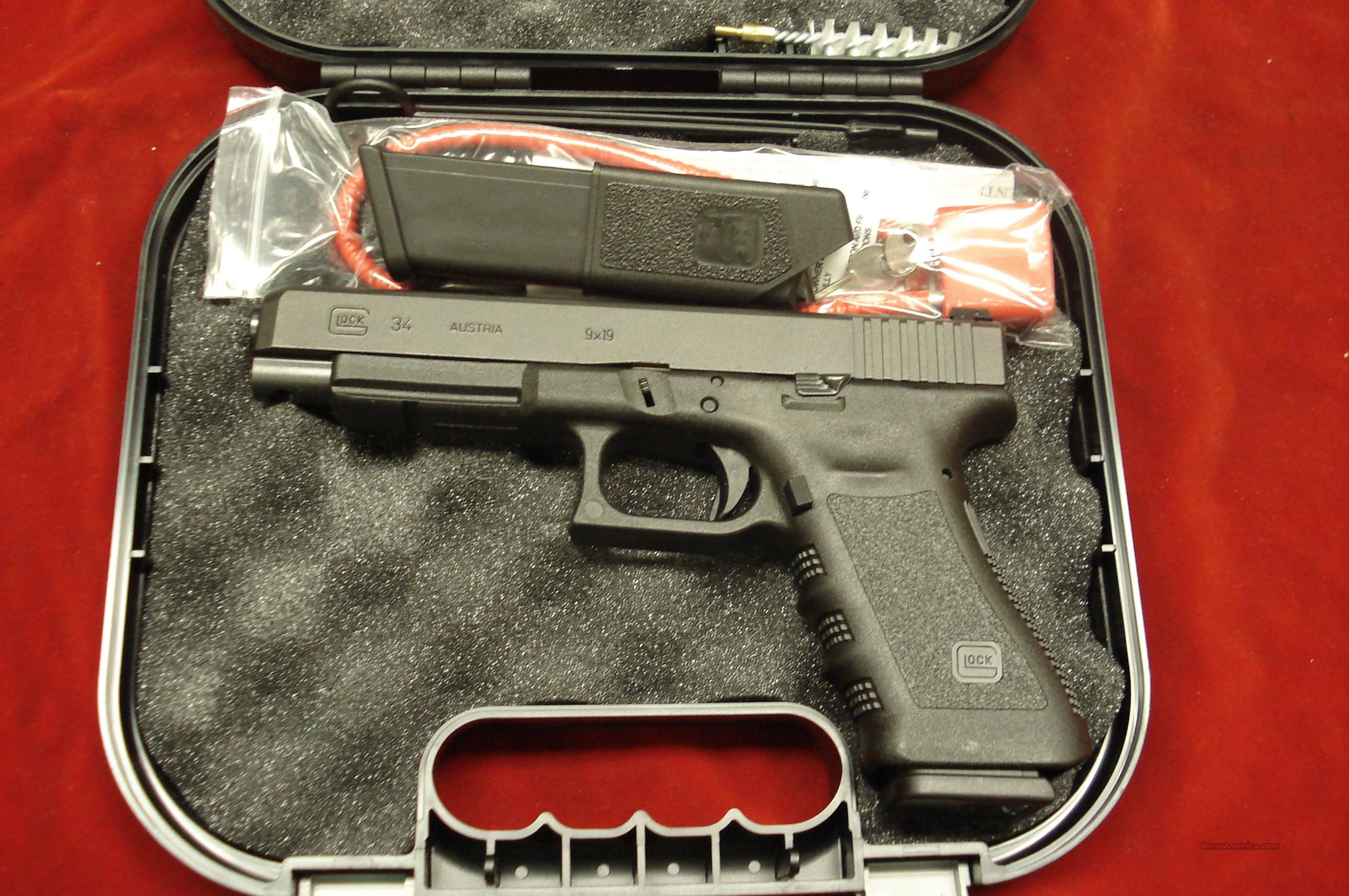 GLOCK MODEL 34 GEN3 9MM TACTICAL/PRACTICAL NEW  Guns > Pistols > Glock Pistols > 17