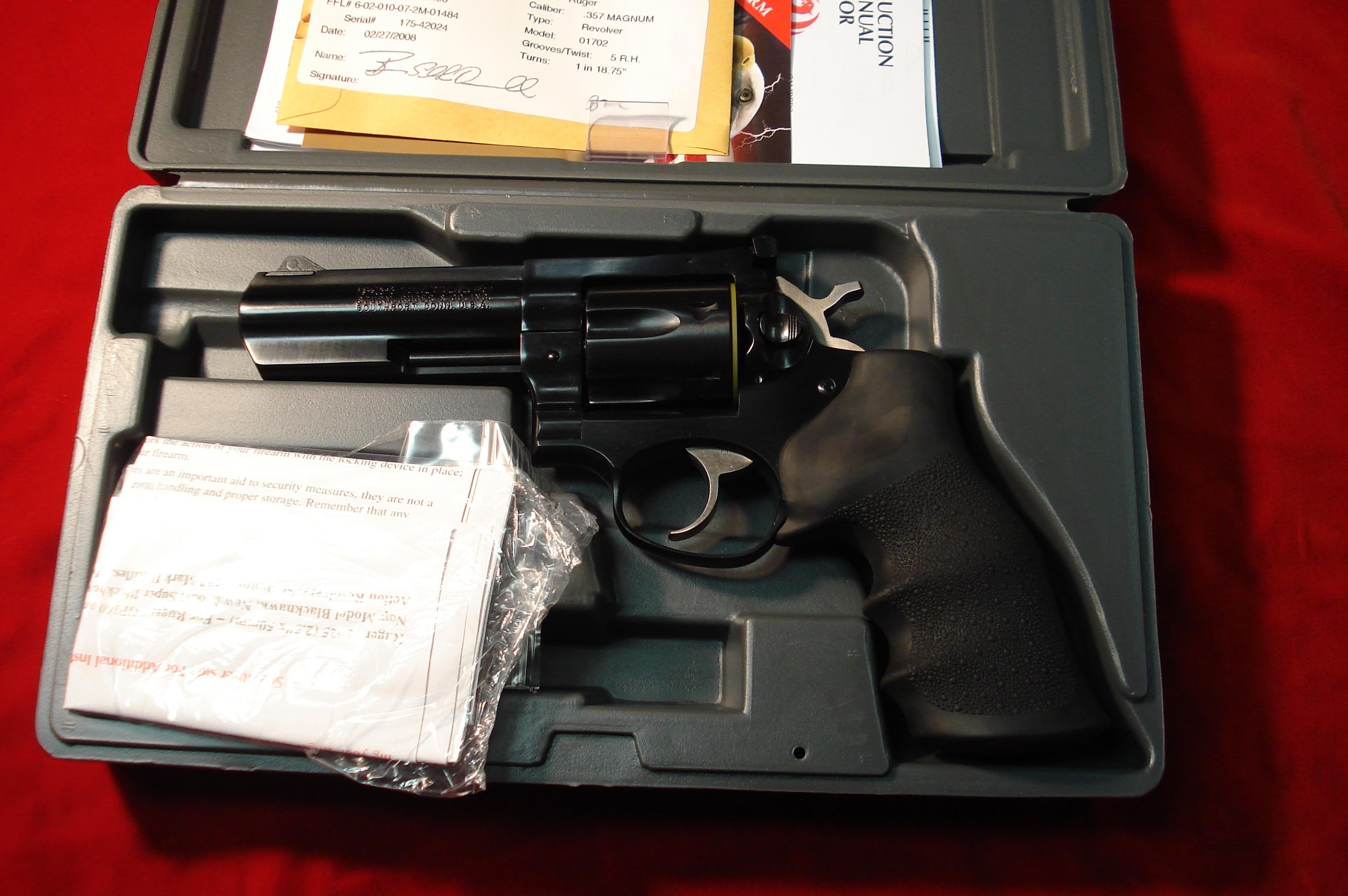 "RUGER GP 100 357MAG 4"" BLUE NEW  Guns > Pistols > Ruger Double Action Revolver > Security Six Type"