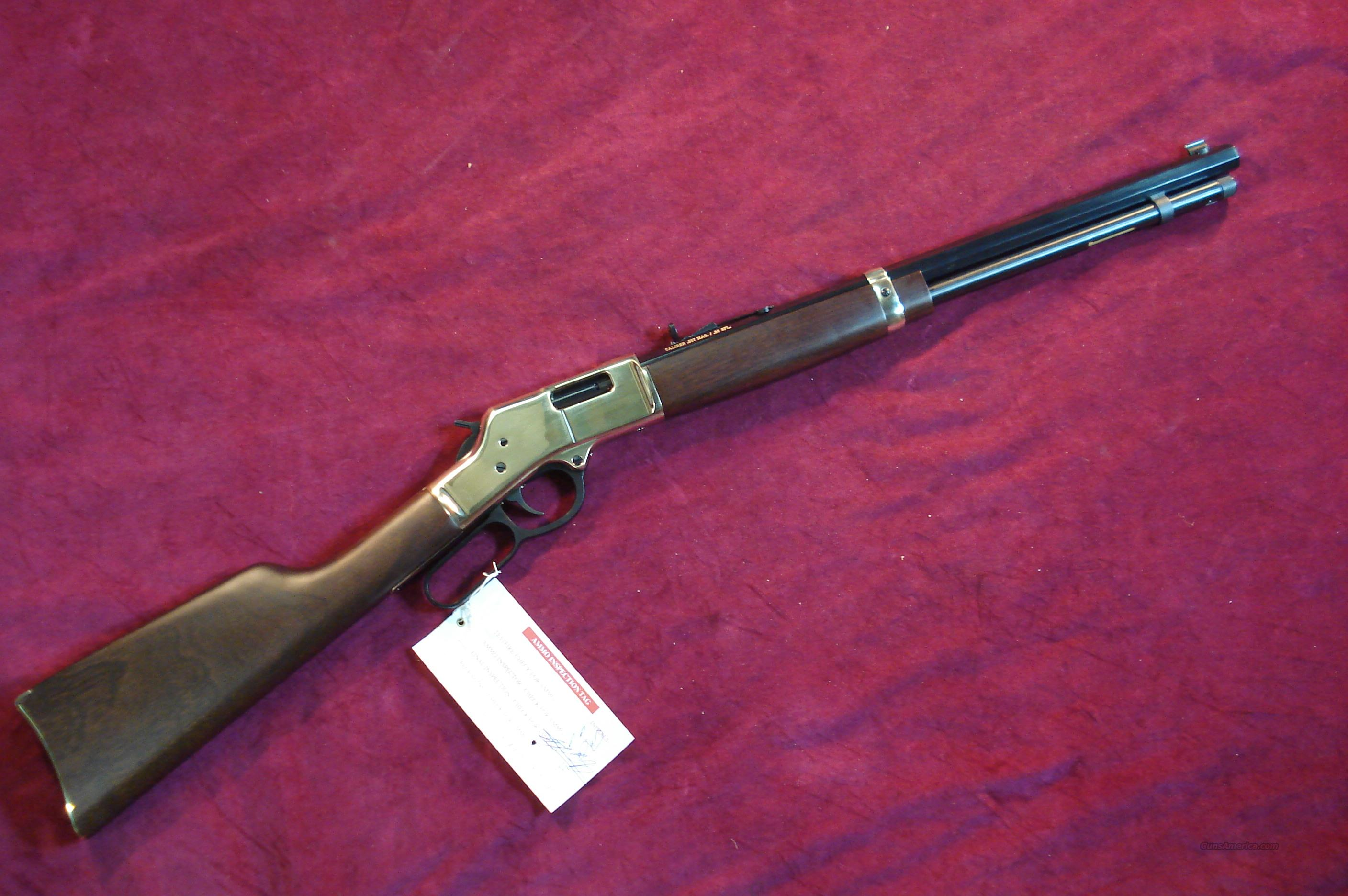 HENRY BIG BOY LEVER ACTION 357MAG/38SPL. CAL. NEW  Guns > Rifles > Henry Rifle Company