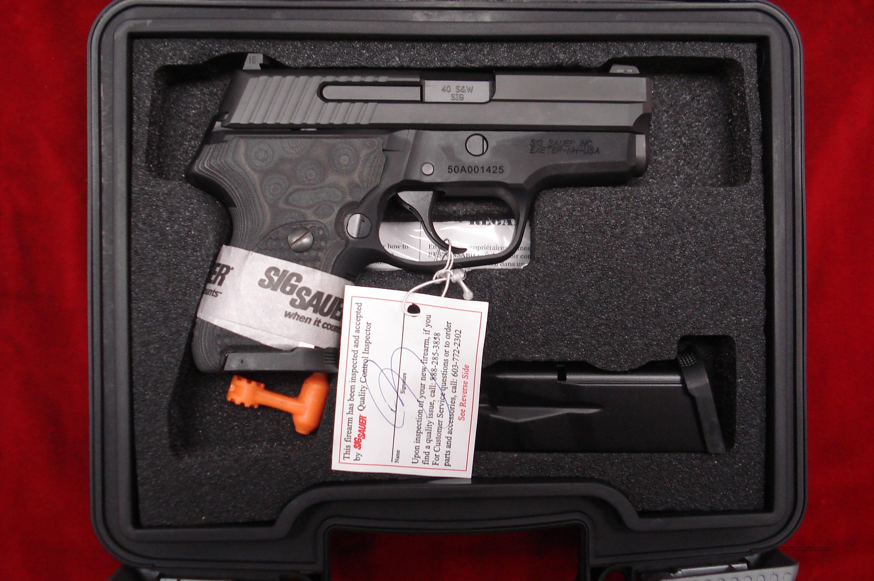 SIG-SAUER P224 XTM 40SW  W/NIGHT SIGHTS NEW  Guns > Pistols > Sig - Sauer/Sigarms Pistols > Other