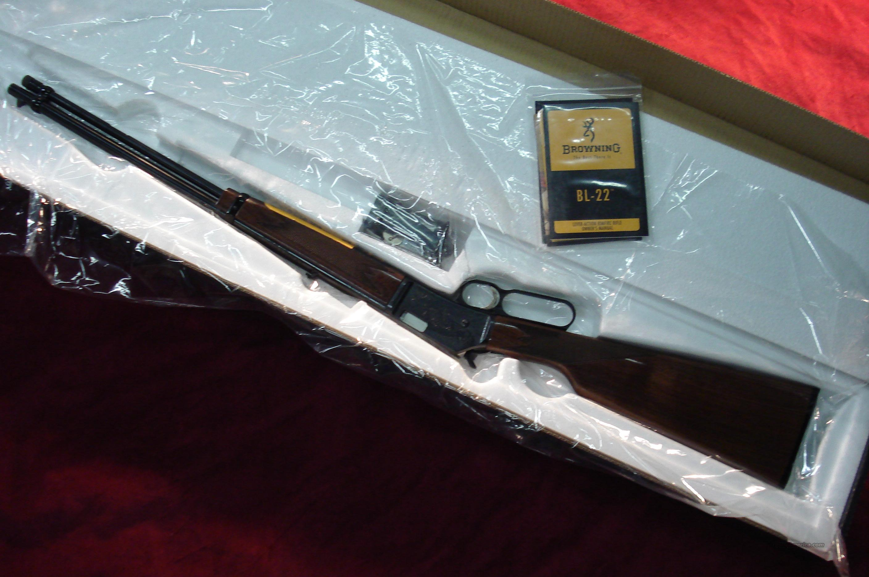 BROWNING BL-22 GRII NEW   (024101103)  Guns > Rifles > Browning Rifles > Lever Action
