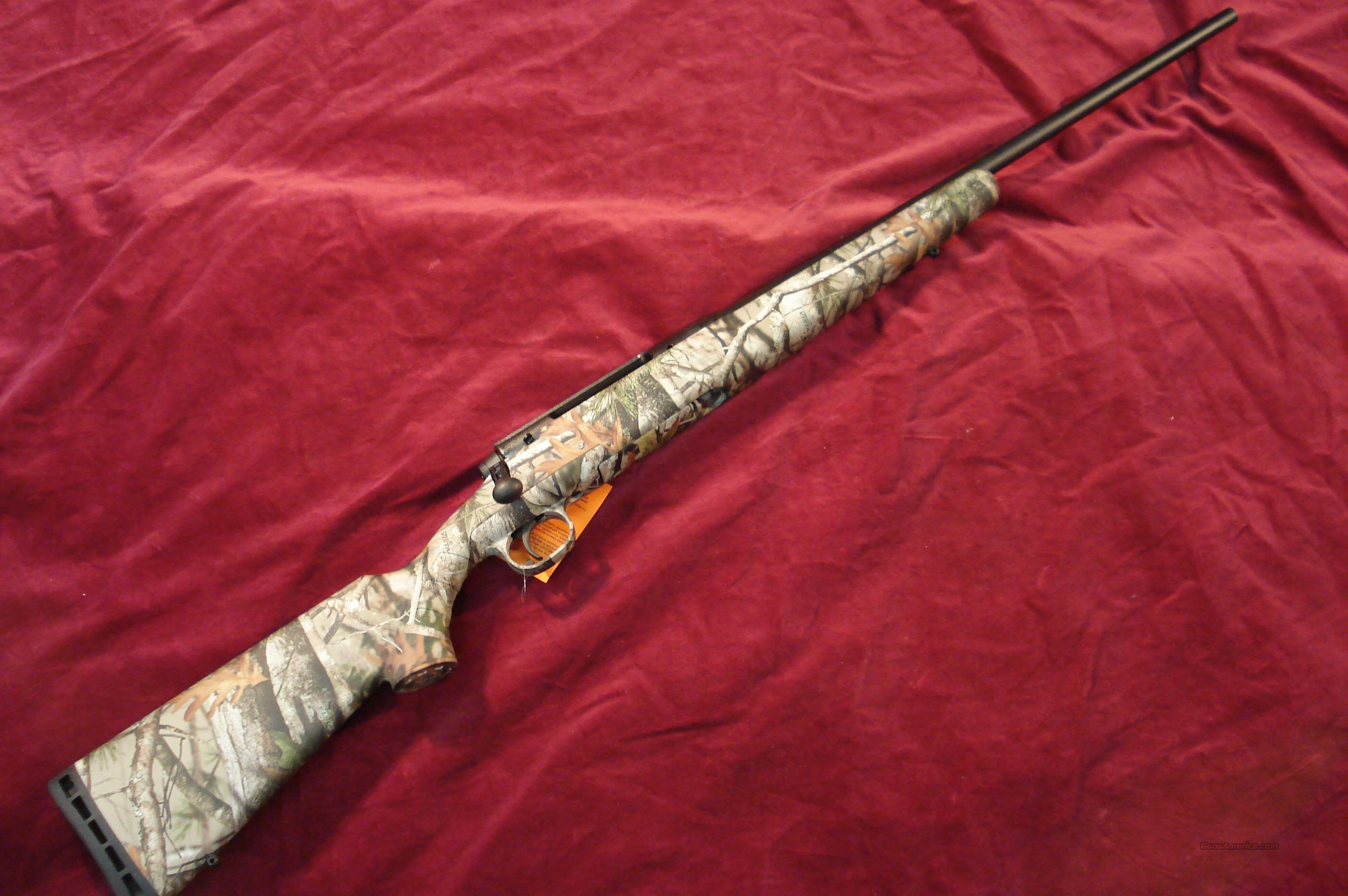 SAVAGE AXIS 30.06 CAL. CAMO NEW  Guns > Rifles > Savage Rifles > Standard Bolt Action > Sporting