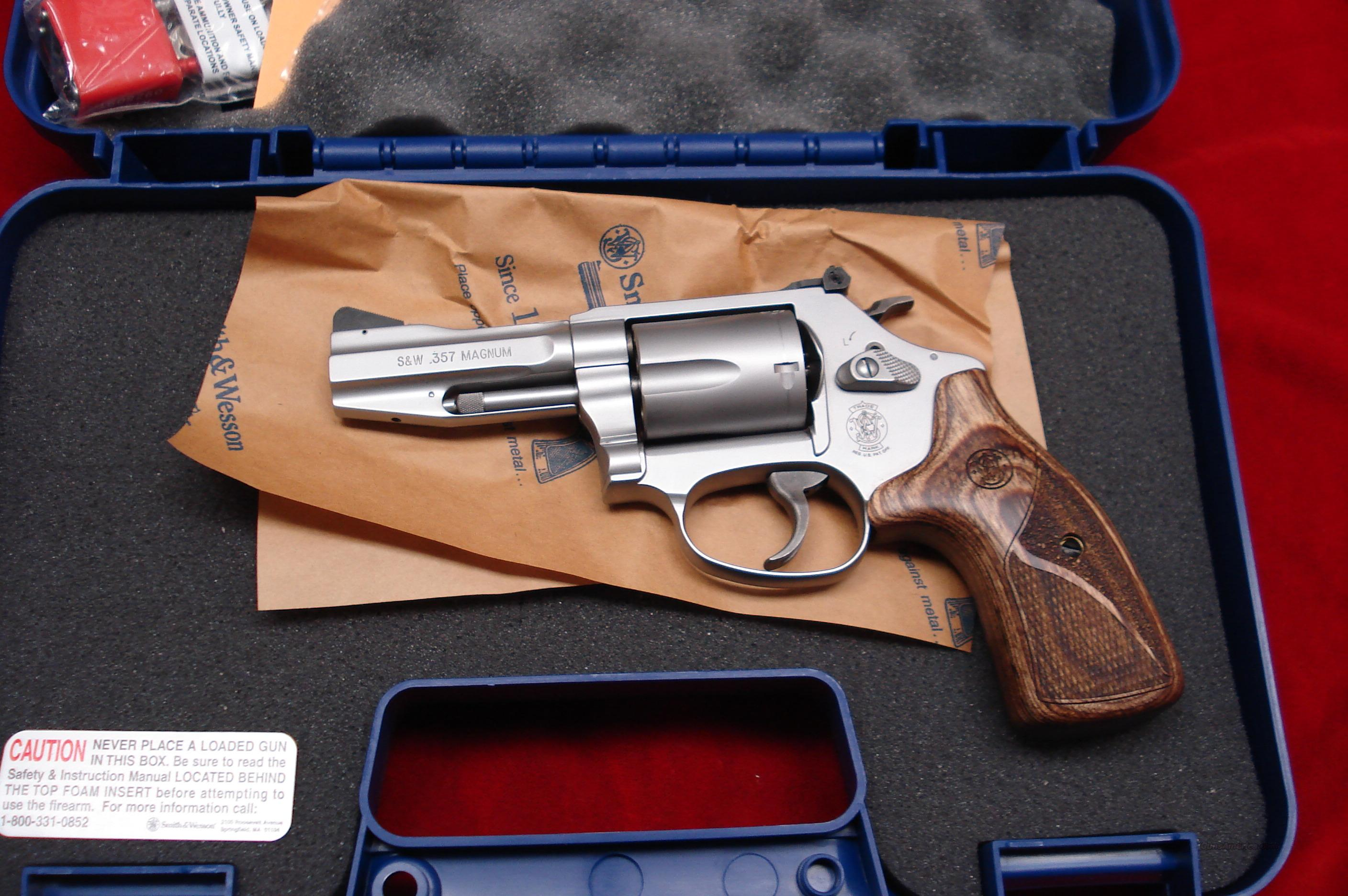 SMITH AND WESSON MODEL 60 PRO SERIES 357MAG STAINLESS NEW  Guns > Pistols > Smith & Wesson Revolvers > Performance Center