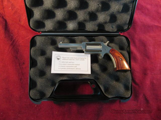 "NORTH AMERICAN ARMS STAINLESS SHERIFF REVOLVER 22MAG 2.5""  NEW  Guns > Pistols > North American Arms Pistols"