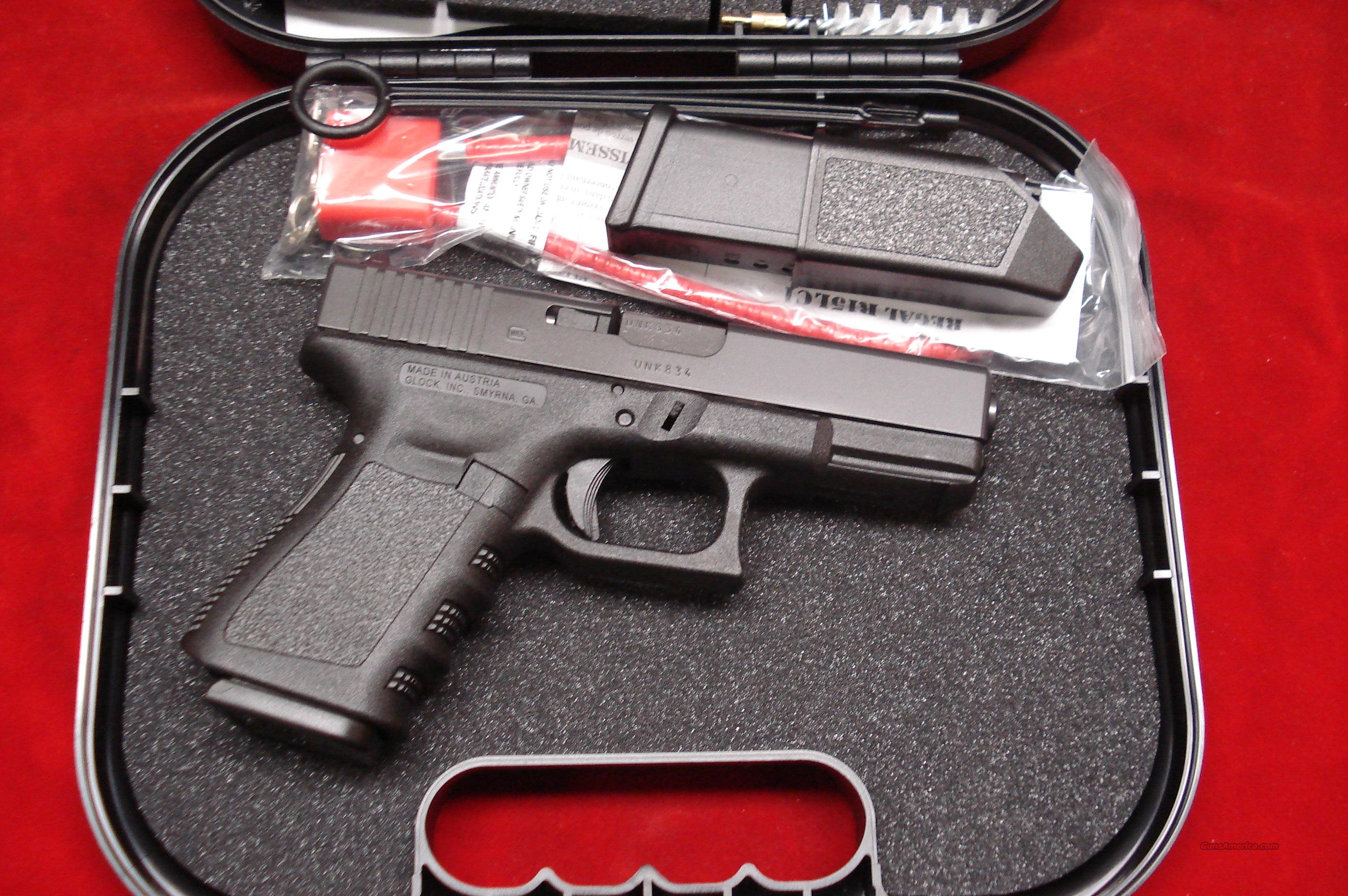GLOCK MODEL 19 GEN 3 9MM W/10RD  MAGAZINES NEW  Guns > Pistols > Glock Pistols > 19