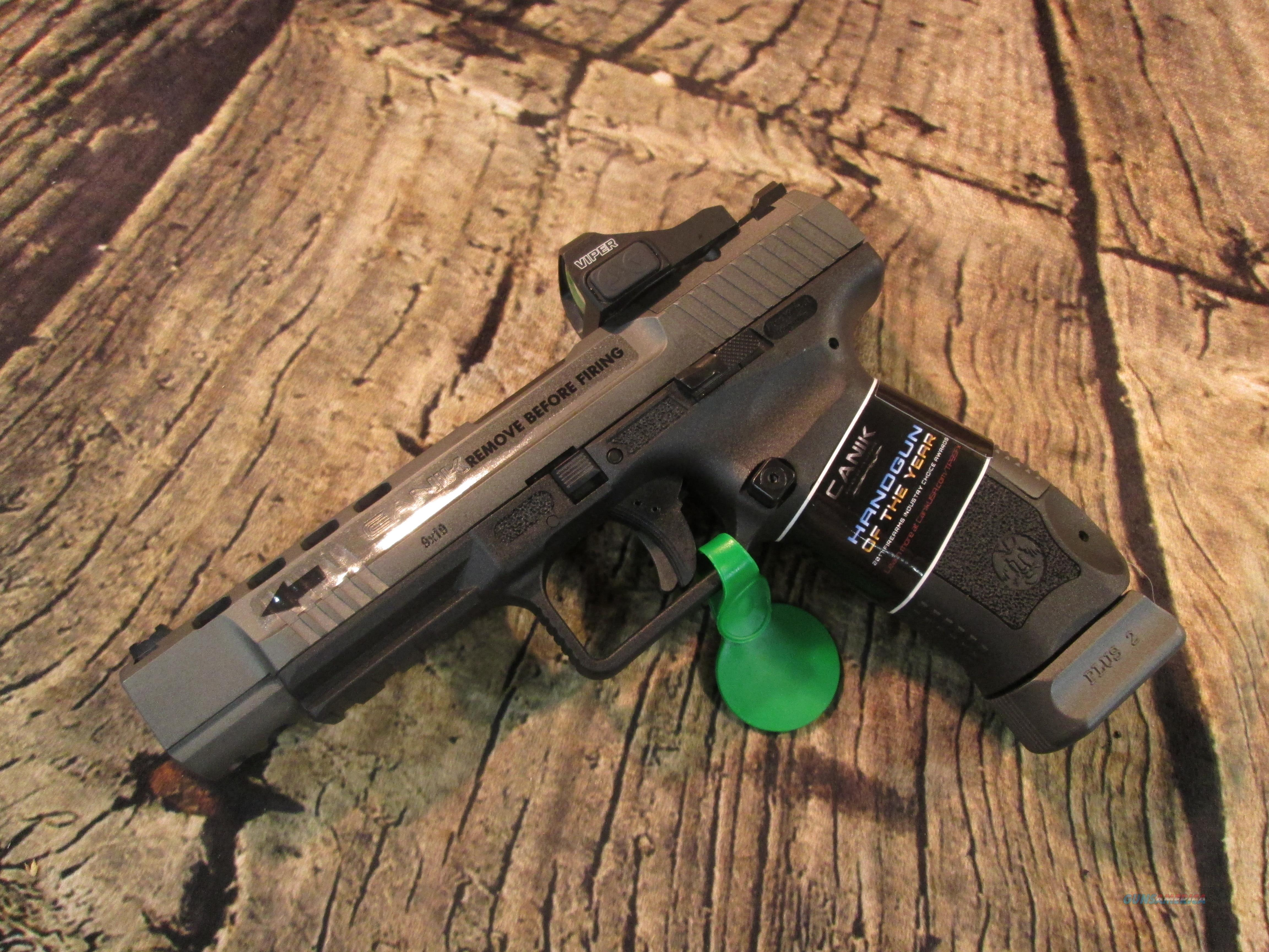 CENTURY ARMS TP9 SFX 9MM CANIK WITH VIPER RED DOT (HG3774GV-N)  Guns > Pistols > Canik USA Pistols