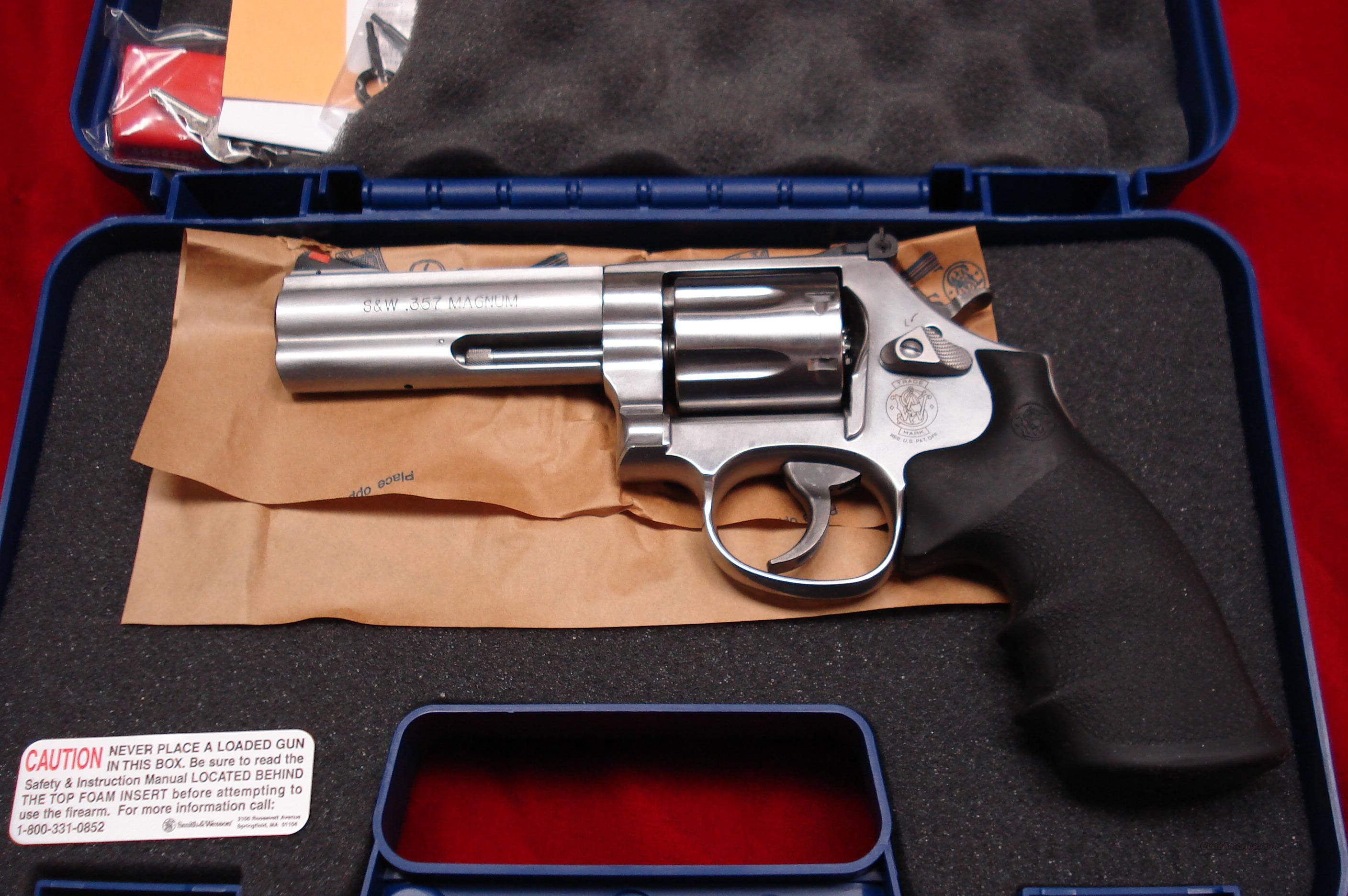 "SMITH AND WESSON MODEL 686 PLUS 4"" 357MAG STAINLESS NEW  Guns > Pistols > Smith & Wesson Revolvers > Full Frame Revolver"