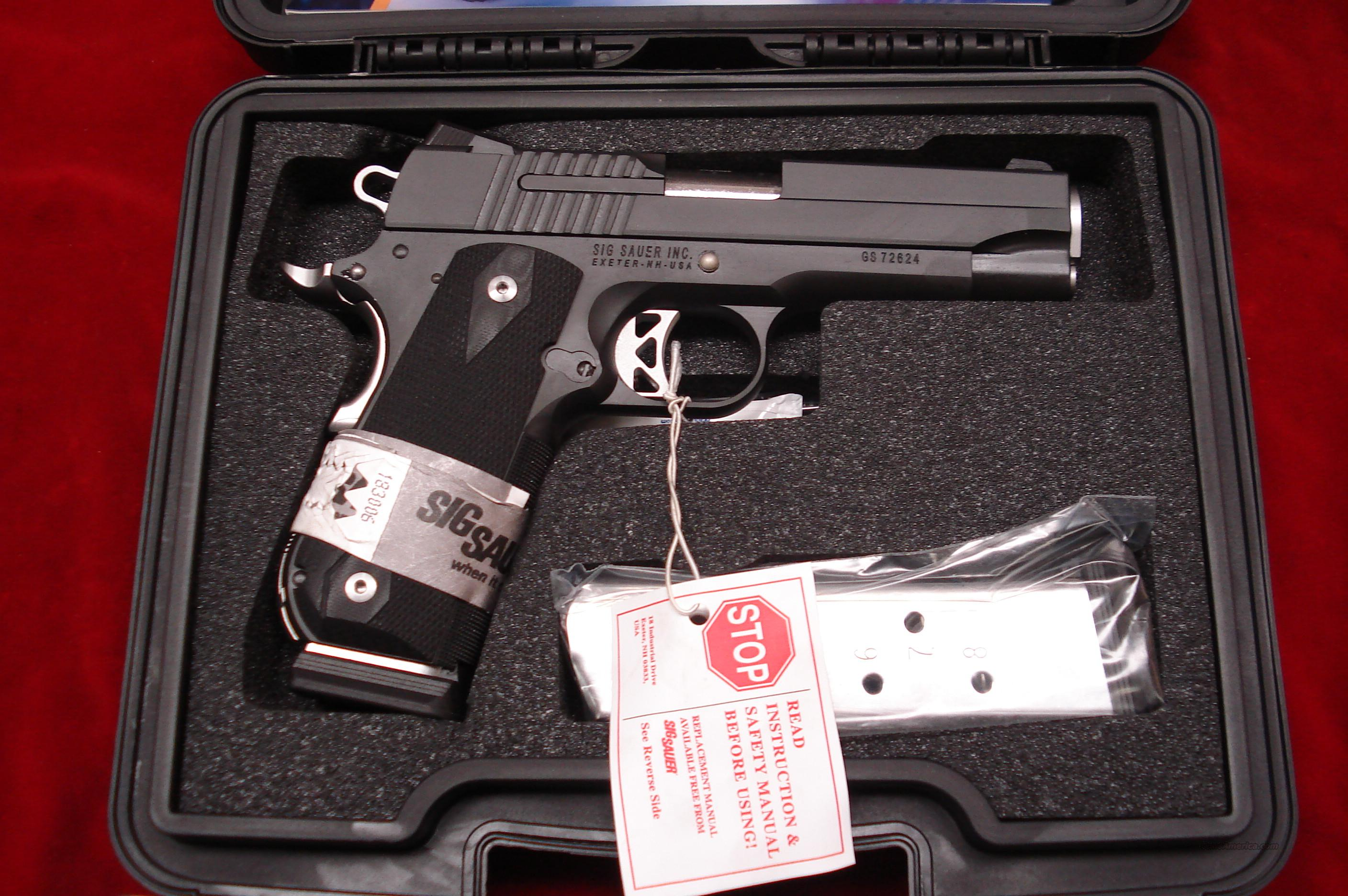 SIG SAUER  1911 FAST BACK NIGHTMARE 45ACP WITH NIGHT SIGHTS NEW   Guns > Pistols > Sig - Sauer/Sigarms Pistols > 1911