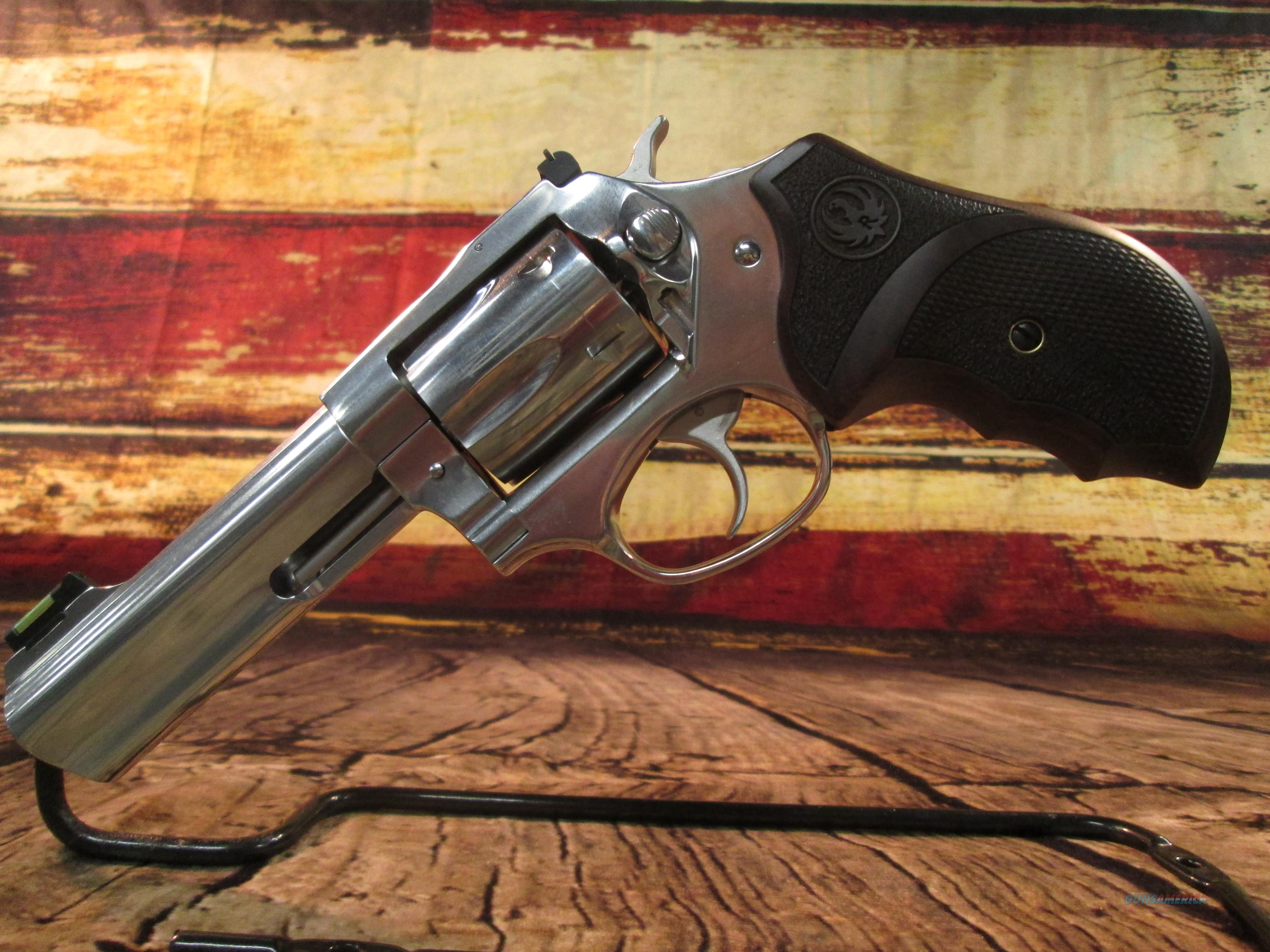 """RUGER SP101 MATCH CHAMPION 4.2"""" STAINLESS .357MAG/38SPL NEW (05782)  Guns > Pistols > Ruger Double Action Revolver > SP101 Type"""