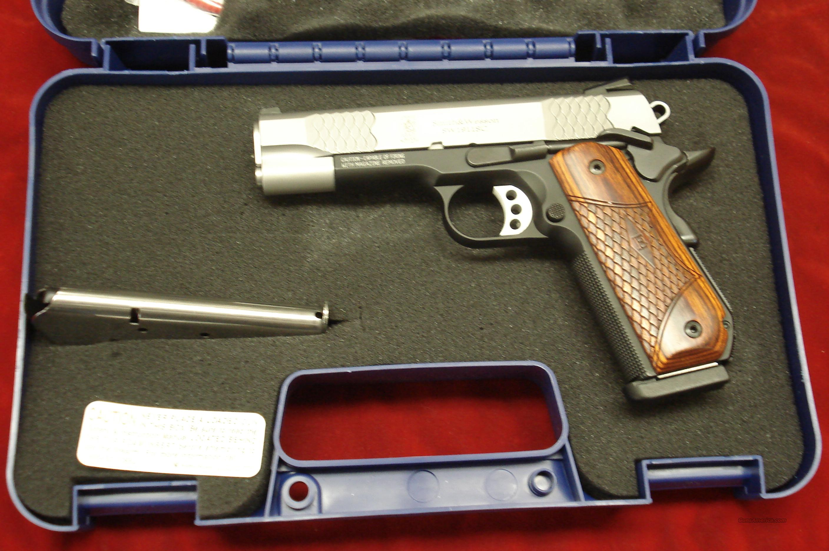 "SMITH AND WESSON SW1911SC ""E"" SERIES SCANDIUM FRAME 45ACP W/NIGHT SIGHTS NEW  Guns > Pistols > Smith & Wesson Pistols - Autos > Alloy Frame"