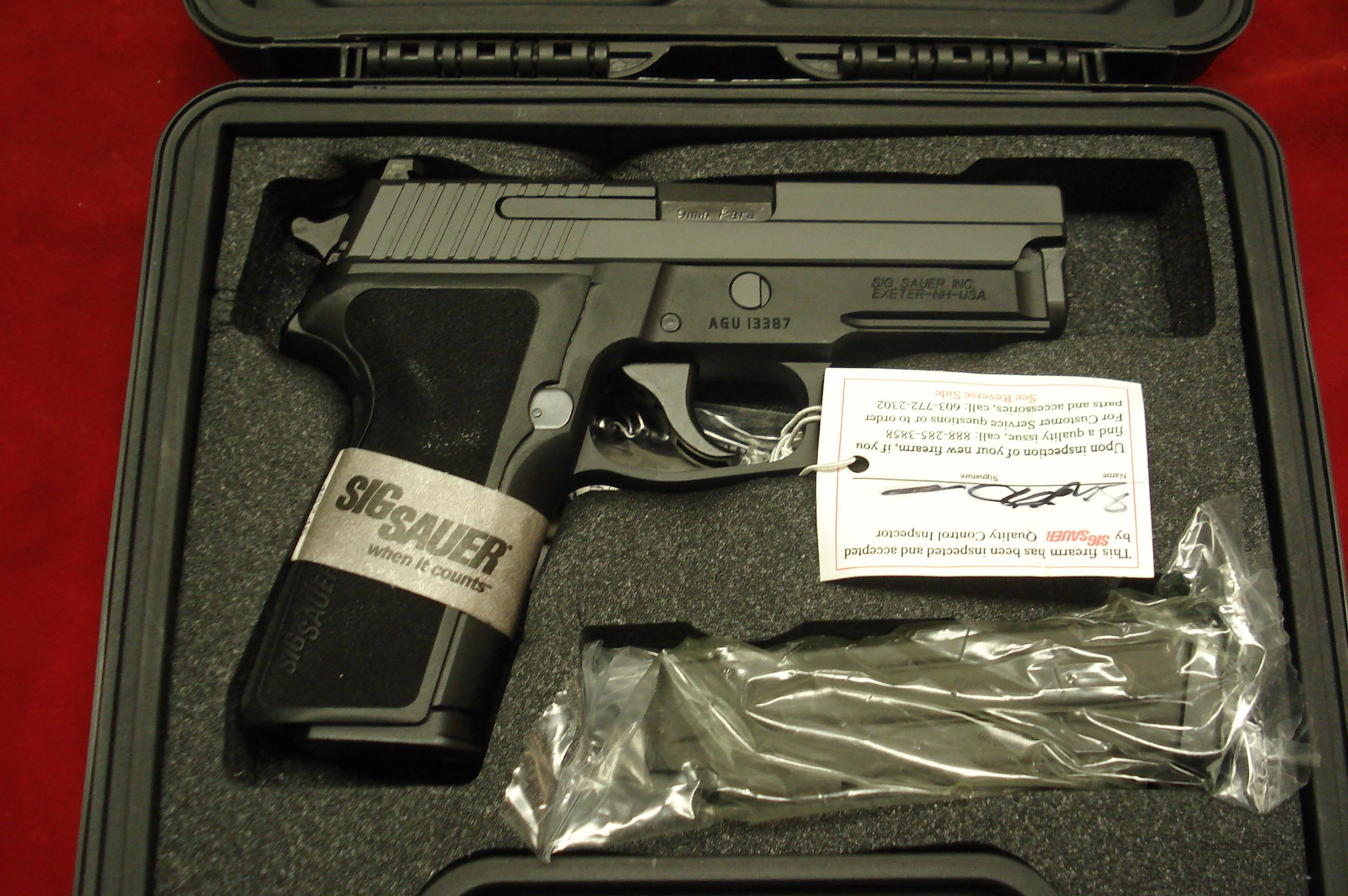 SIG SAUER P229 9MM WITH NIGHT SIGHTS NEW   Guns > Pistols > Sig - Sauer/Sigarms Pistols > P229