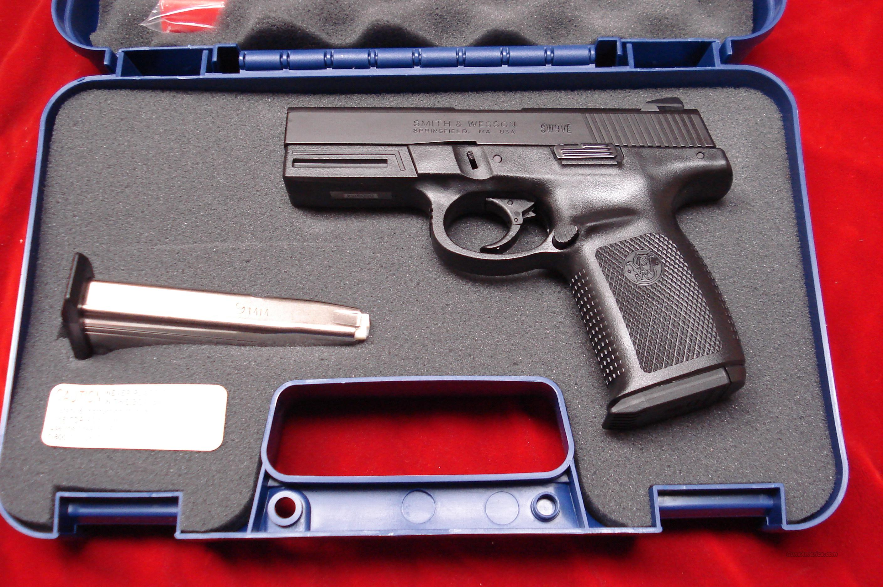 SMITH AND WESSON SIGMA  9MM HIGH CAP NEW   Guns > Pistols > Smith & Wesson Pistols - Autos > Polymer Frame