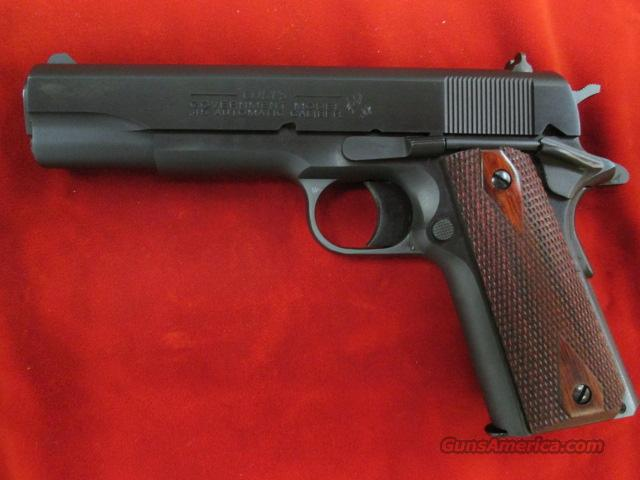 "COLT GOVERNMENT MODEL BLUE 45ACP ""100 YEARS OF SERVICE"" LNIB  Guns > Pistols > Colt Automatic Pistols (1911 & Var)"