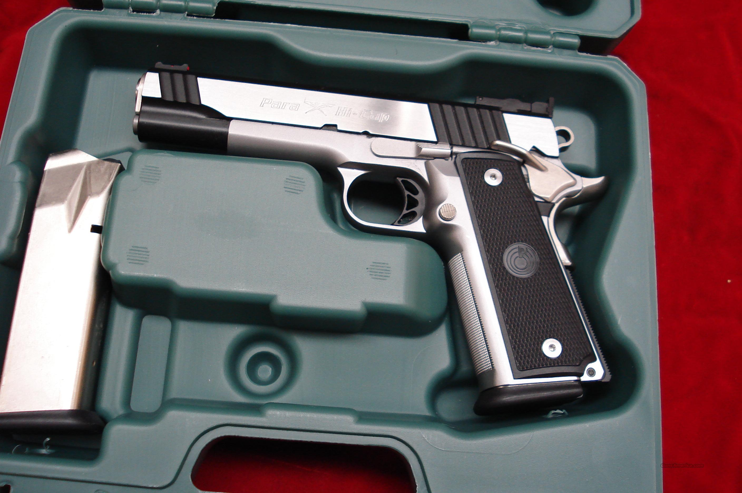 PARA ORDNANCE STAINLESS P14-45 LIMITED HIGH CAP. 1911 45ACP NEW  Guns > Pistols > Para Ordnance Pistols