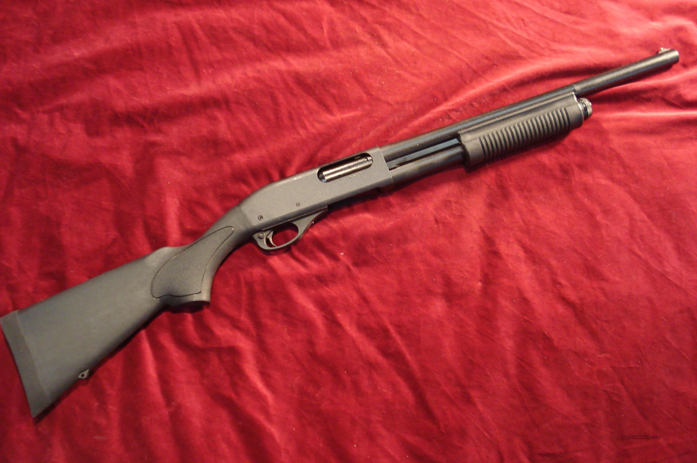 "NEW STYLE REMINGTON 870 HD (HOME DEFENSE)12G PUMP ACTION SHOTGUN WITH A 18"" BARREL, 3"" CHAMBER, CYLINDER BORE,  BEAD FRONT SIGHT, SYNTHETIC STOCK AND FOREARM, MATTE BLACK ON ALL METAL NEW  Guns > Shotguns > Remington Shotguns  > Pump > Tactical"