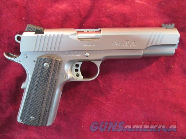 REMINGTON STAINLESS ENHANCED EDITION 1911 R1 45ACP USED  Guns > Pistols > Remington Pistols - Modern