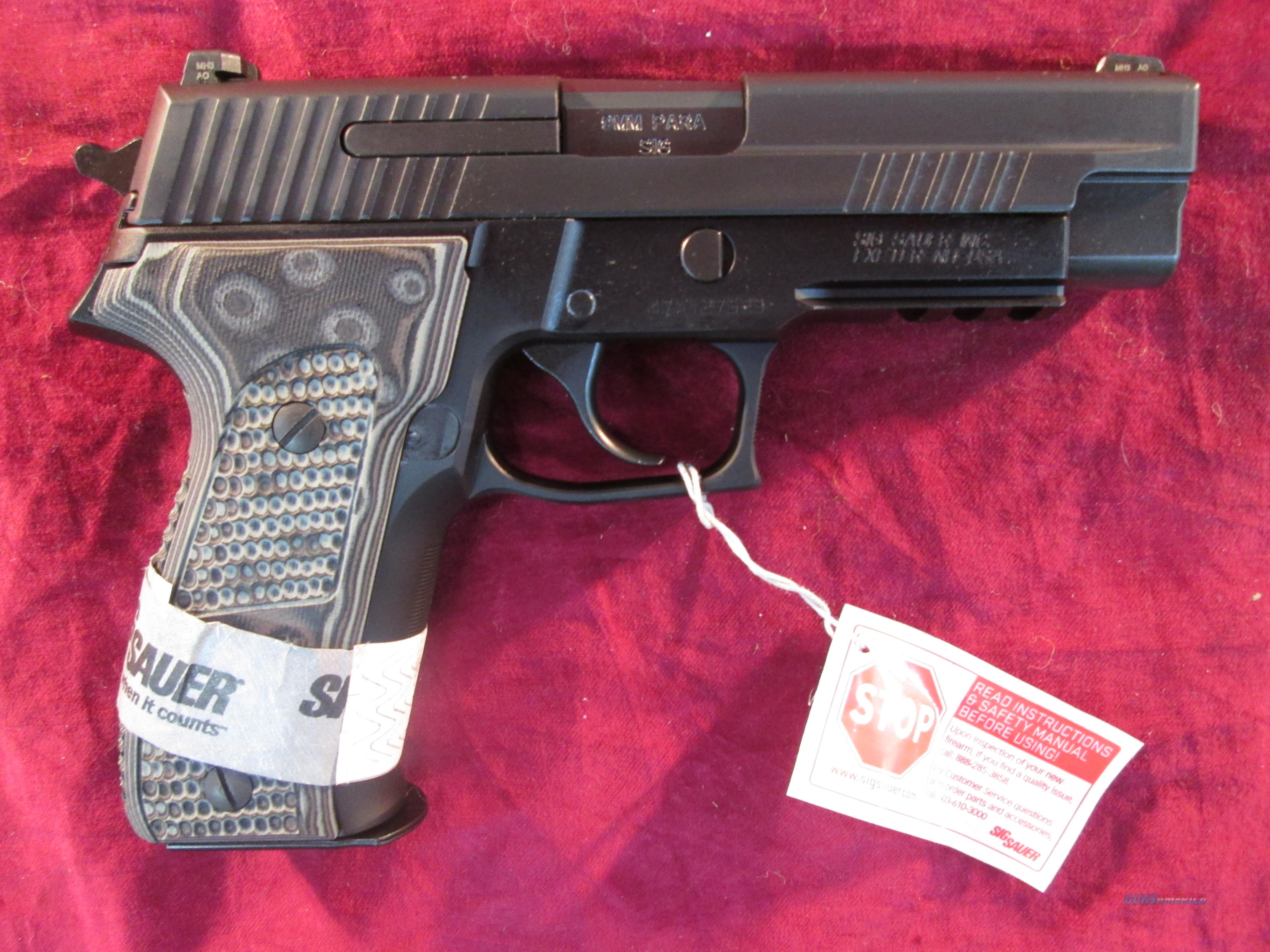 SIG SAUER P226 EXTREME 9MM W/ NIGHT SIGHTS NEW  Guns > Pistols > Sig - Sauer/Sigarms Pistols > P226