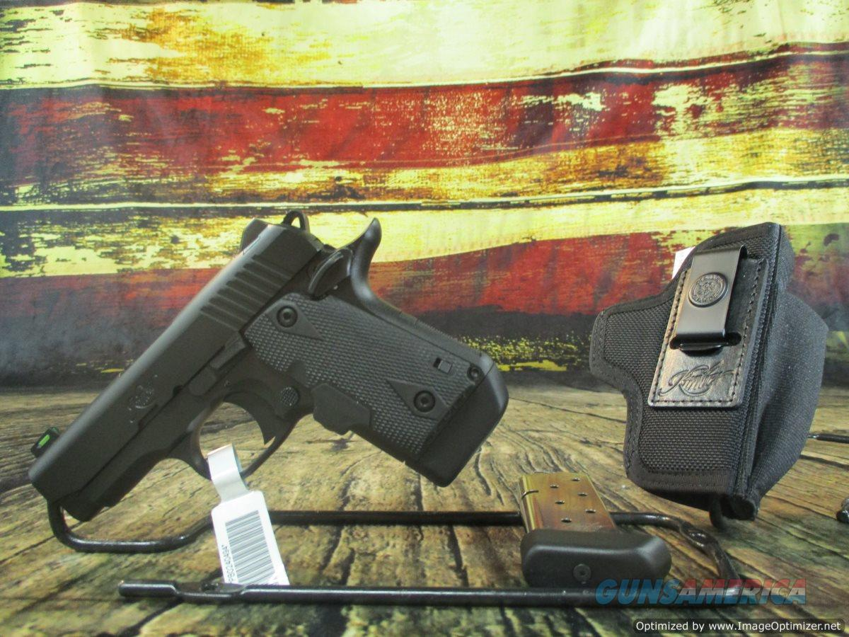 Kimber Micro 9 with Crimson Trace Laser SHOT Show Special 9MM (3700548)  Guns > Pistols > Kimber of America Pistols > Micro 9