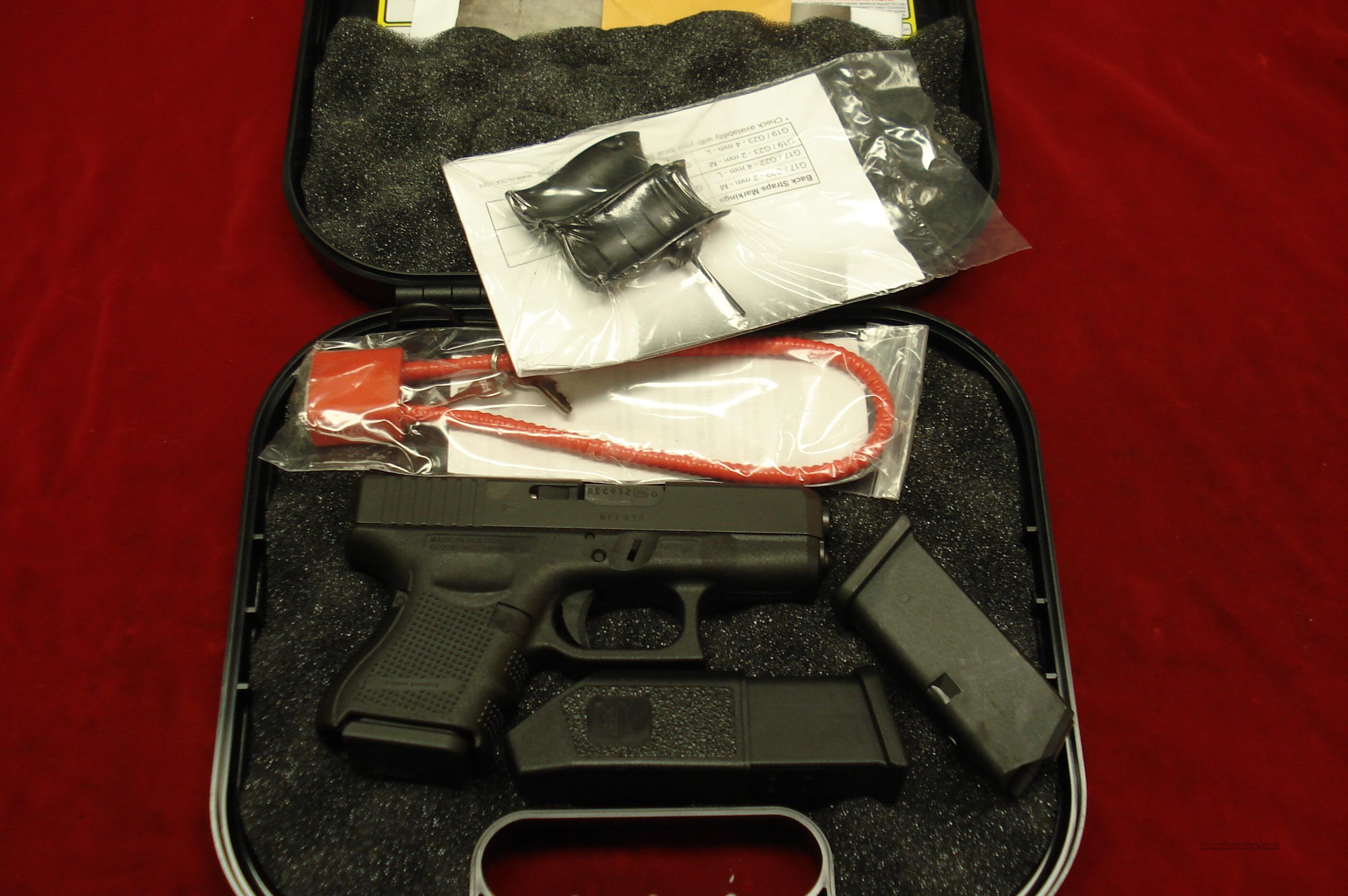 GLOCK MODEL 27 GENERATION 4 .40 CAL. WITH 3 MAGAZINES NEW   Guns > Pistols > Glock Pistols > 26/27