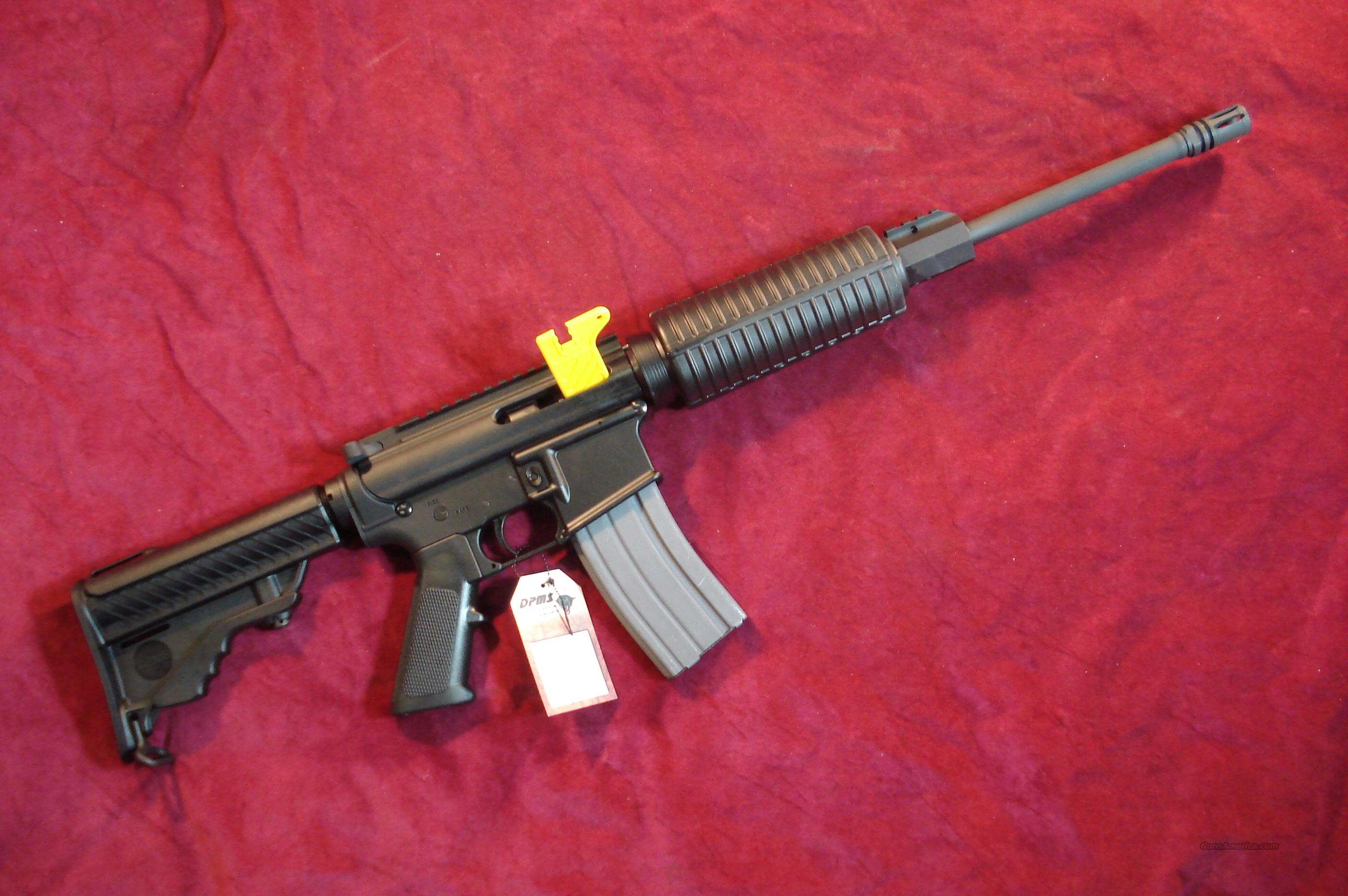 DPMS SPORTICAL CARBINE 223/5.56CAL. NEW  Guns > Rifles > DPMS - Panther Arms > Complete Rifle