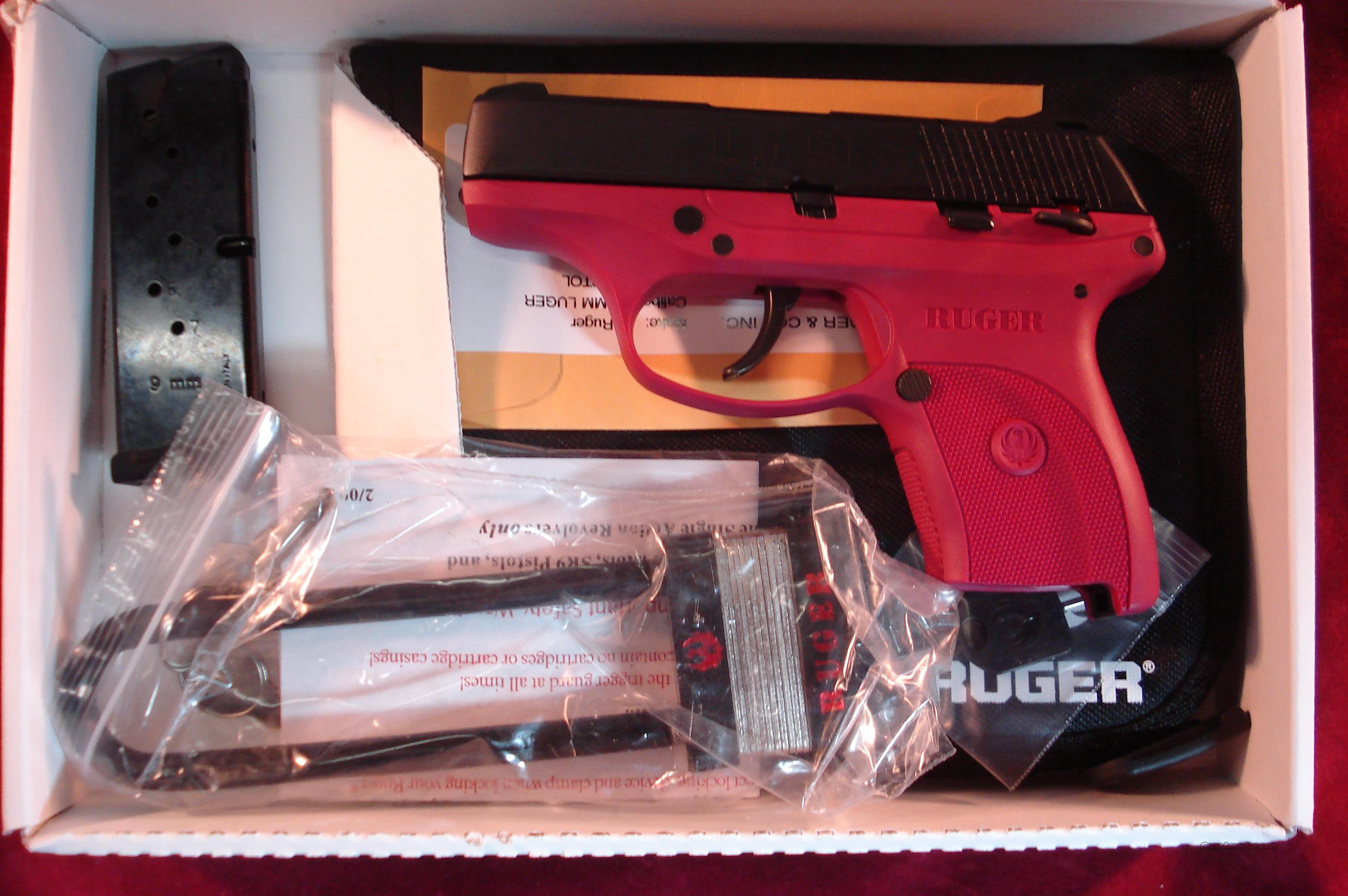 RUGER LC9 9MM CAL RASPBERRY NEW   Guns > Pistols > Ruger Semi-Auto Pistols > LC9