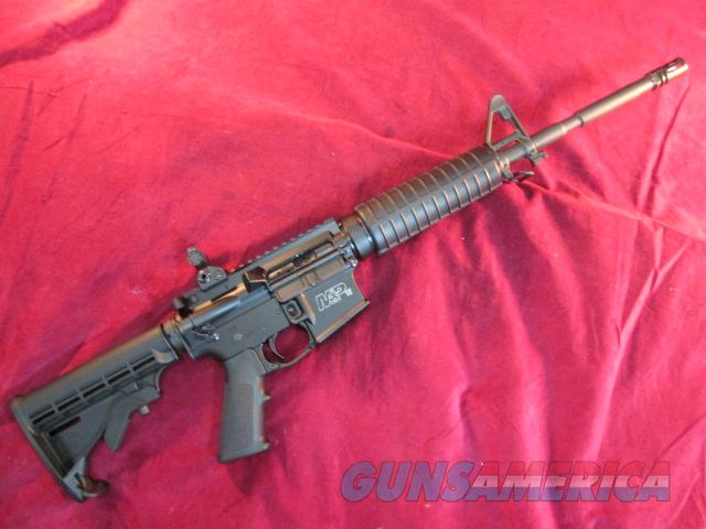 SMITH AND WESSON M&P 15 RIFLE 5.45 X39MM W/5 30 ROUND MAGS USED  Guns > Rifles > Smith & Wesson Rifles > M&P