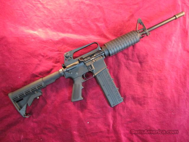 "OLYMPIC ARMS 45ACP CAL AR15 CARBINE 16"" BARREL COLLAPSIBLE BUTTSTOCK NEW  Guns > Rifles > Olympic Arms Rifles"