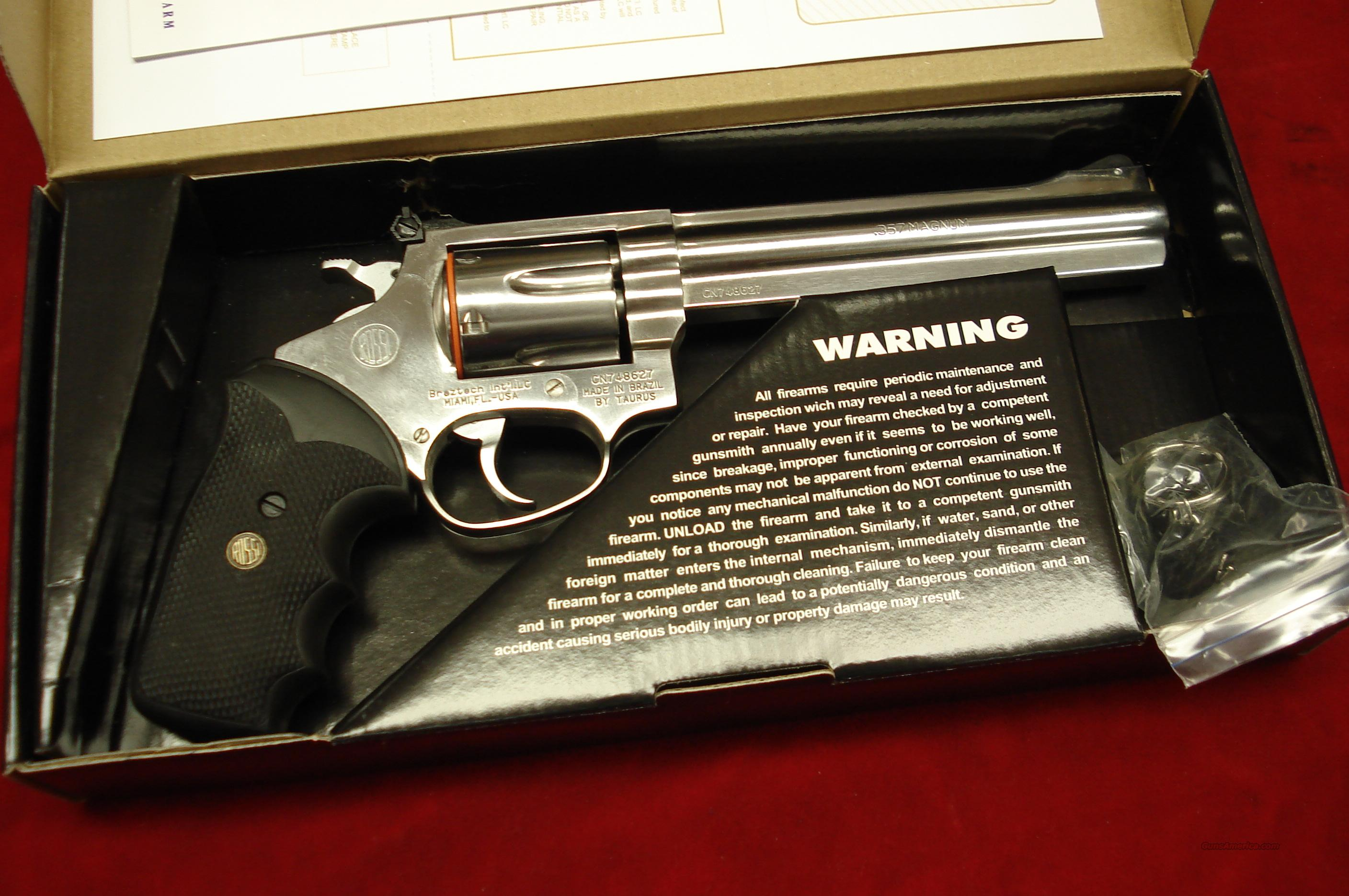 "ROSSI 972 357MAG 6"" STAINLESS NEW   Guns > Pistols > Rossi Revolvers"